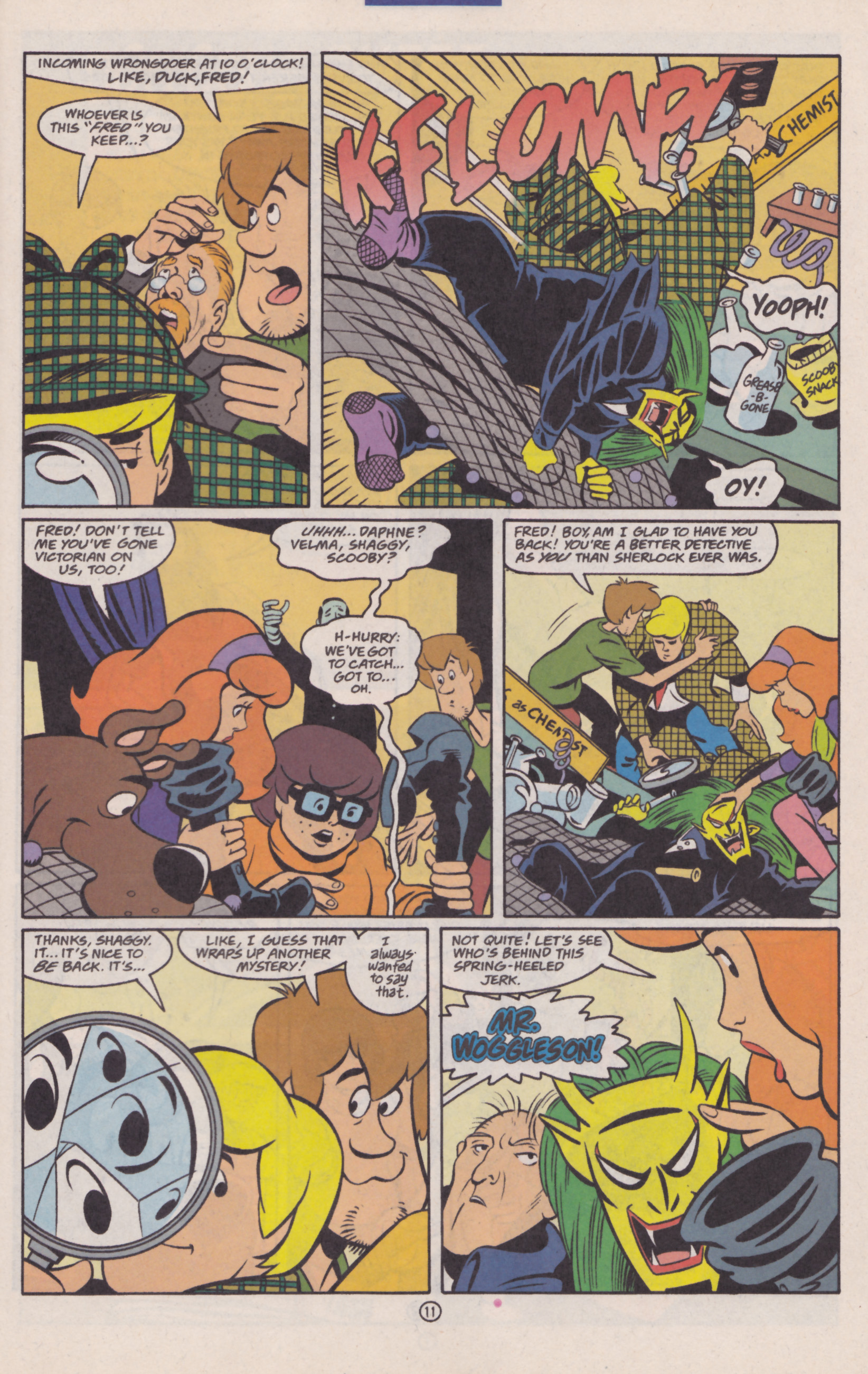 Read online Scooby-Doo (1997) comic -  Issue #30 - 12