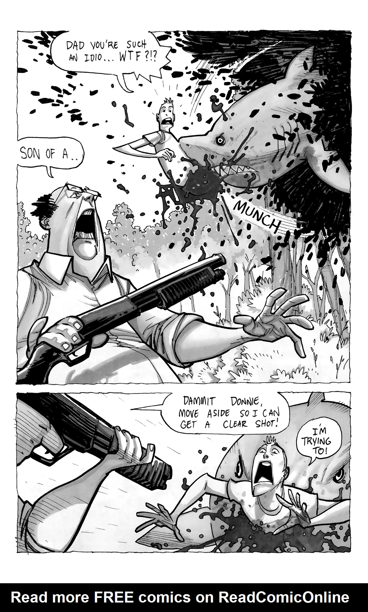 Read online Sea Bear & Grizzly Shark comic -  Issue # Full - 27