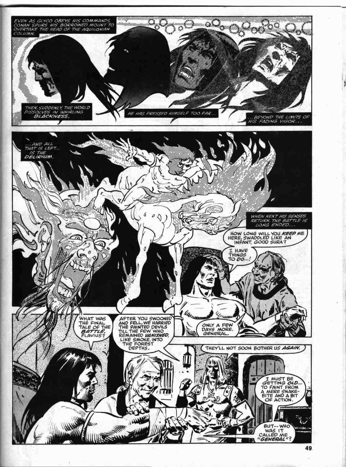 The Savage Sword Of Conan Issue #46 #47 - English 48