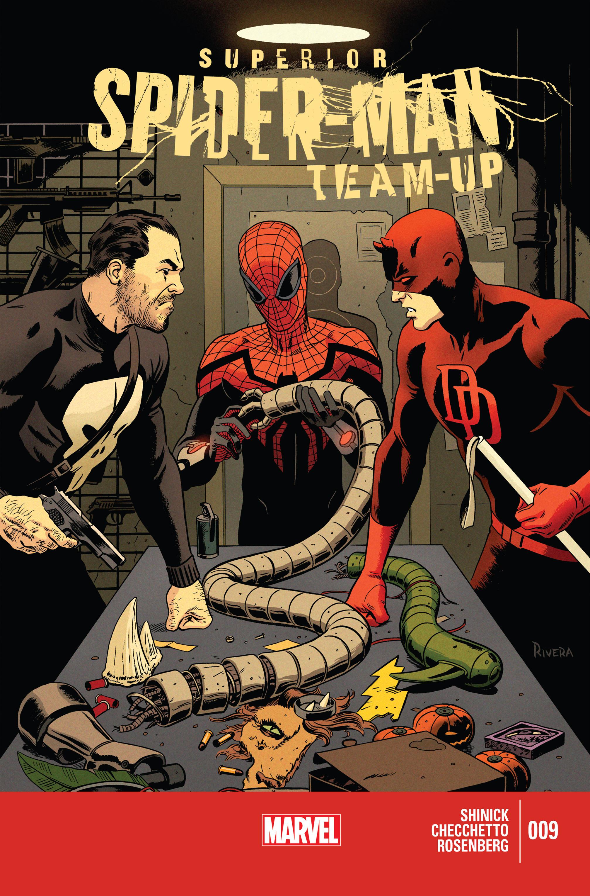 Superior Spider-Man Team-Up issue 9 - Page 1