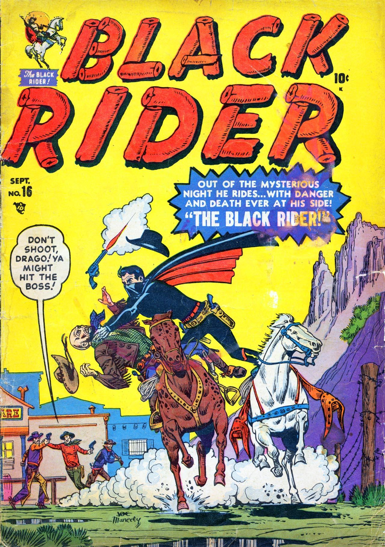 Black Rider 16 Page 1