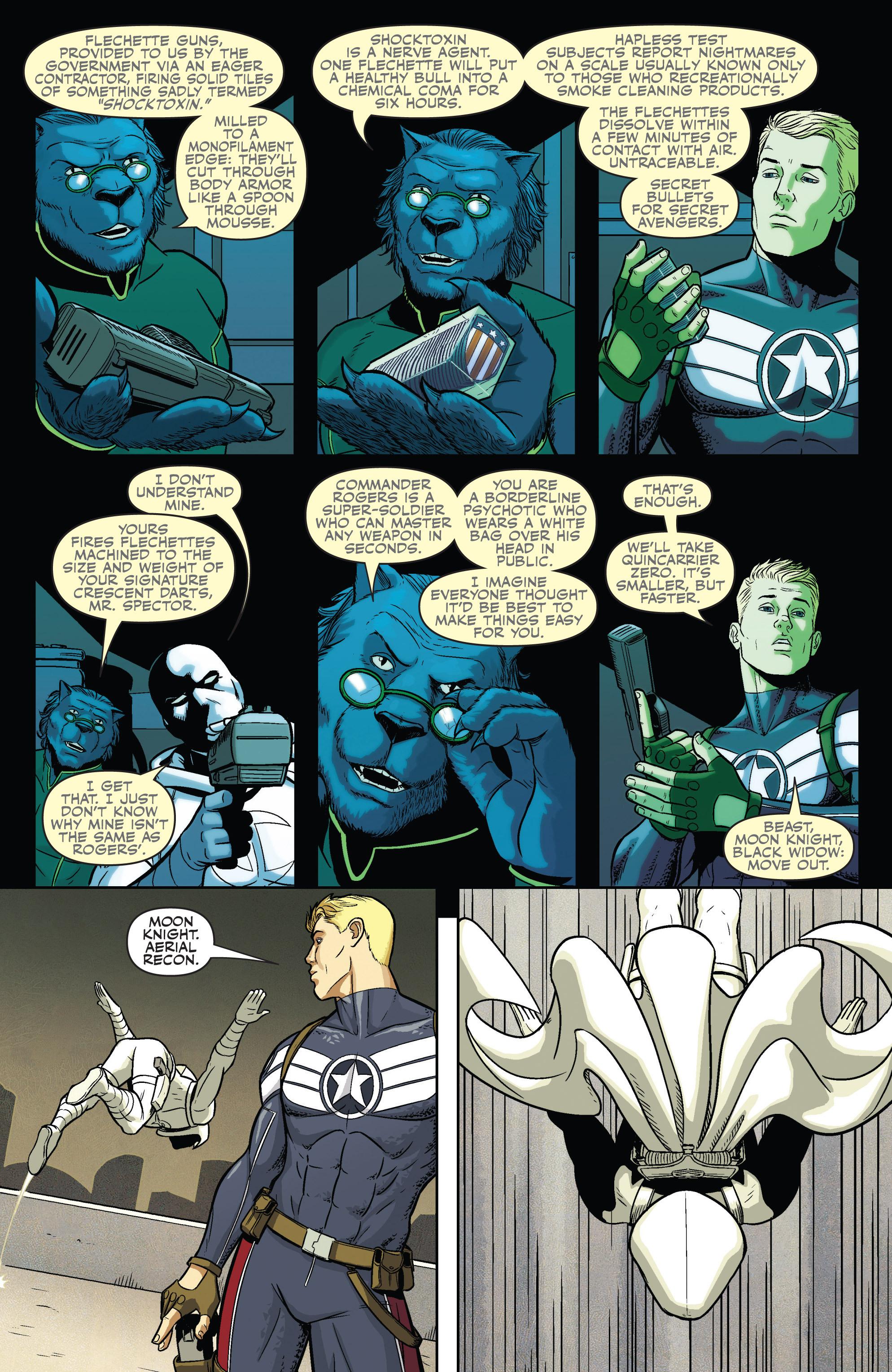 Read online Secret Avengers (2010) comic -  Issue #16 - 5