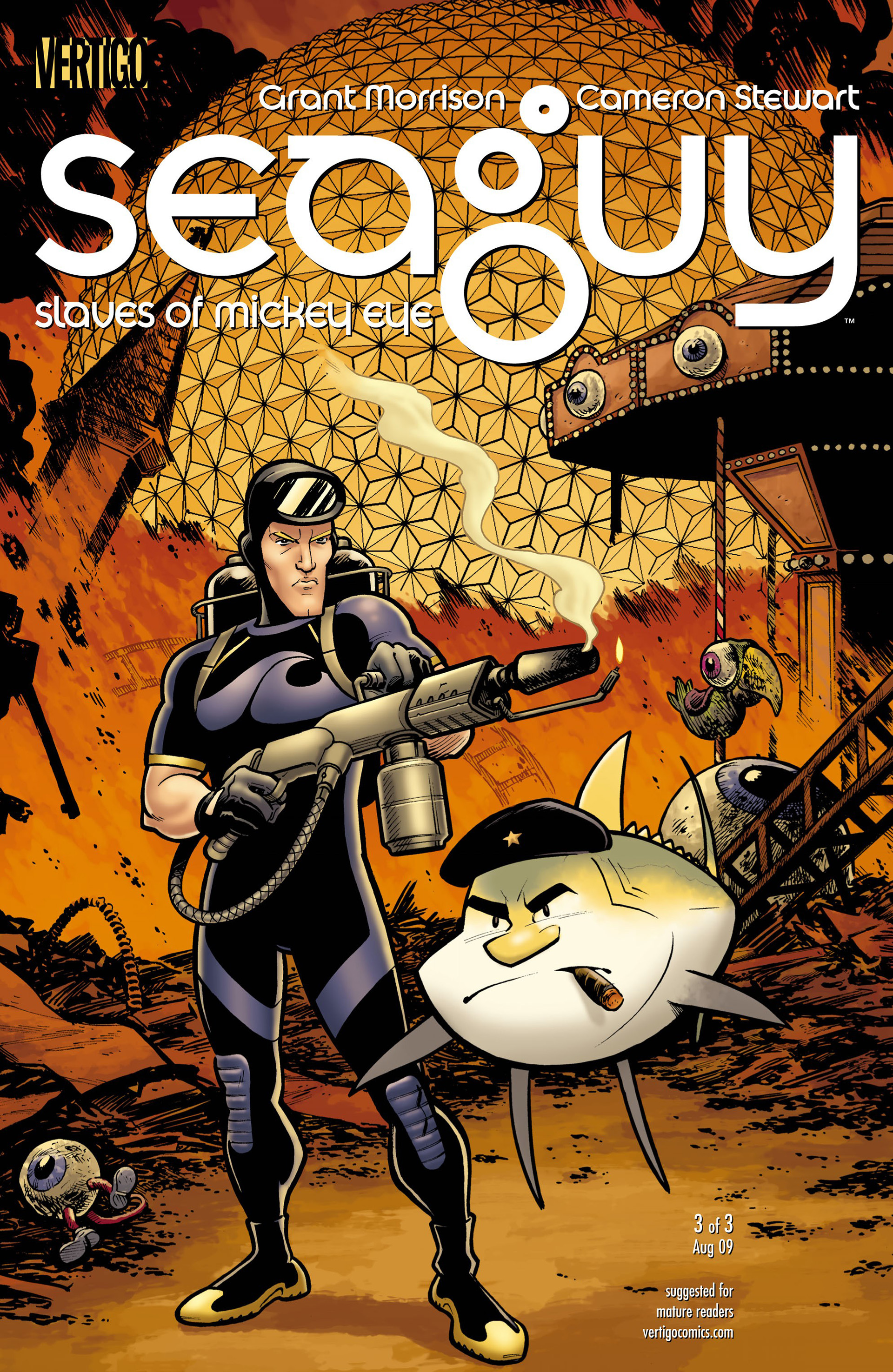Read online Seaguy: The Slaves of Mickey Eye comic -  Issue #3 - 1