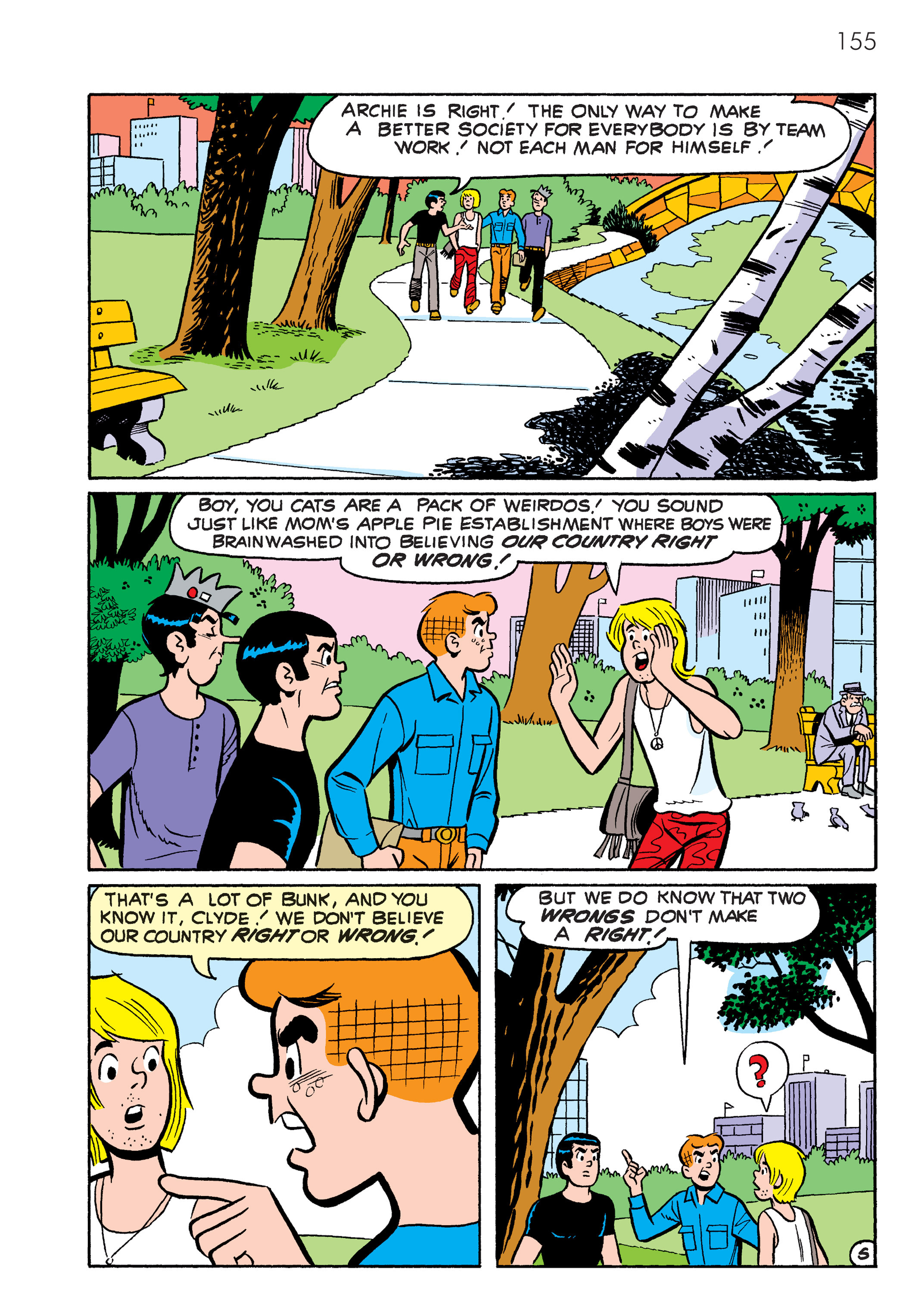Read online The Best of Archie Comics comic -  Issue # TPB 4 (Part 1) - 156
