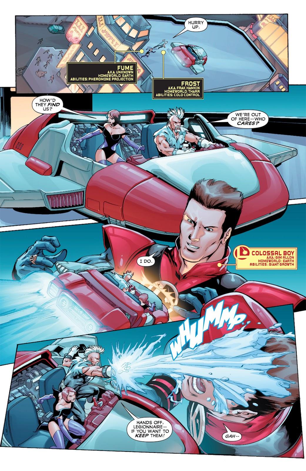 Legion of Super-Heroes (2010) Issue #11 #12 - English 4