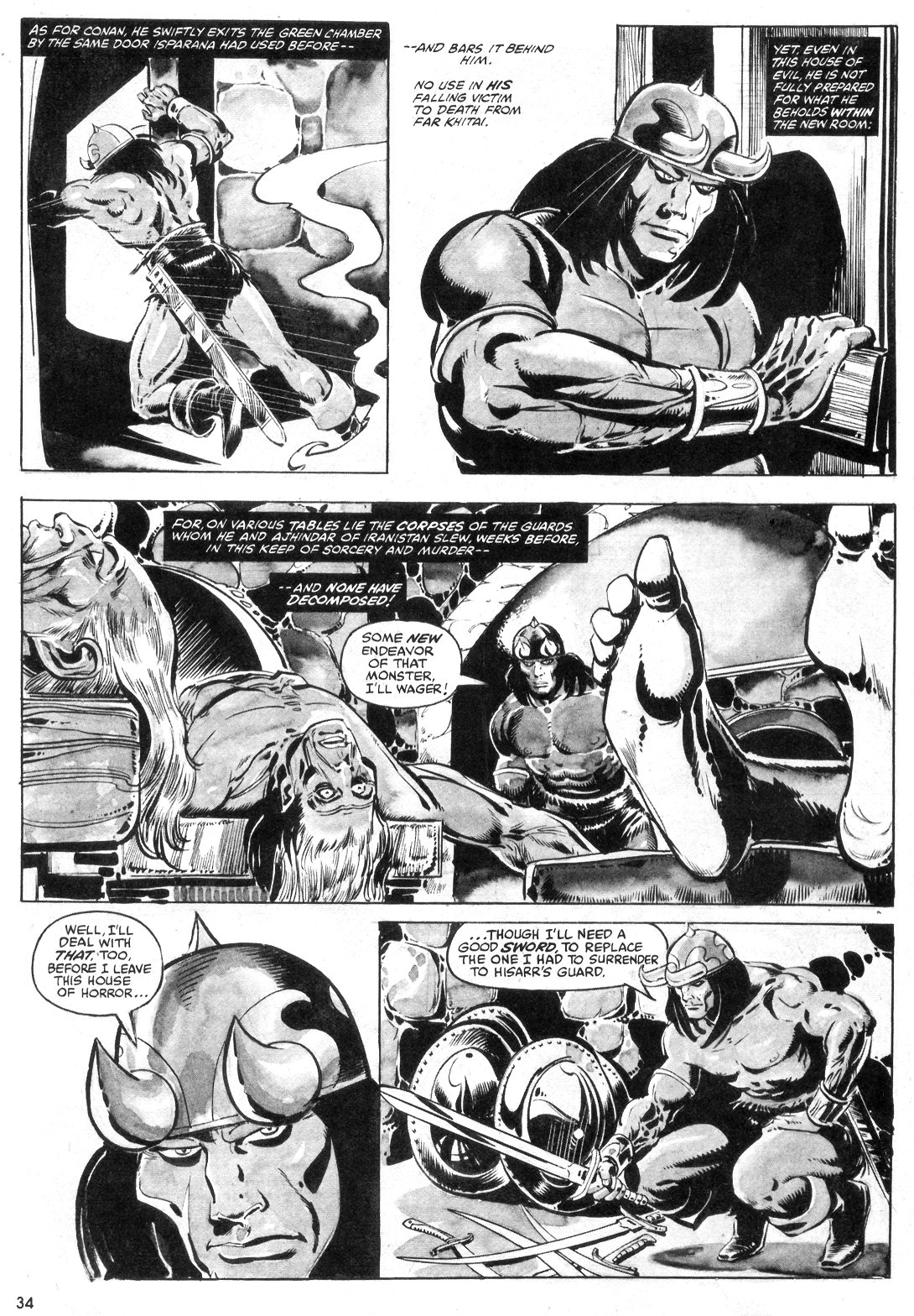 The Savage Sword Of Conan Issue #55 #56 - English 34