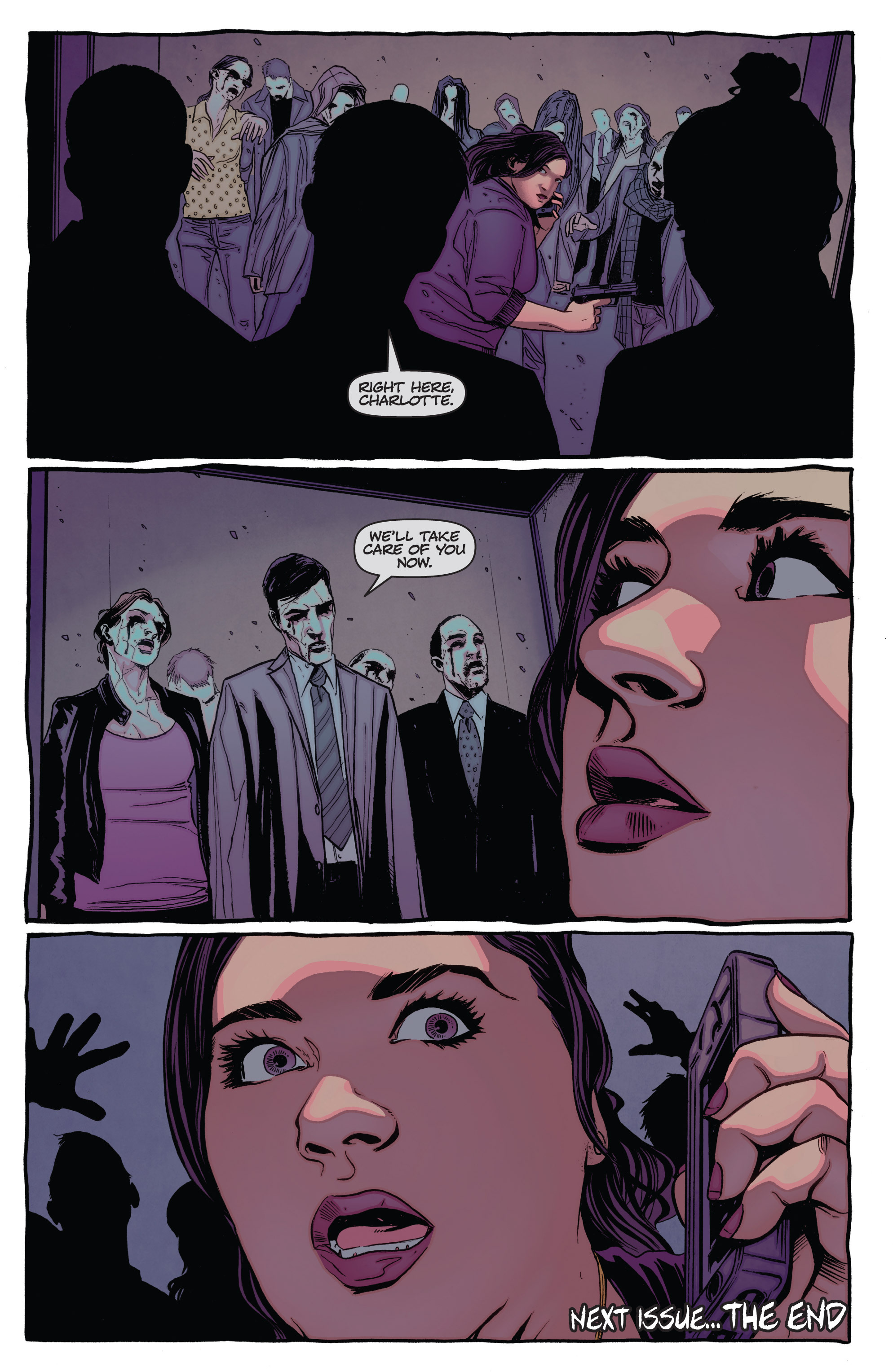 Read online The Darkness (2007) comic -  Issue #115 - 23