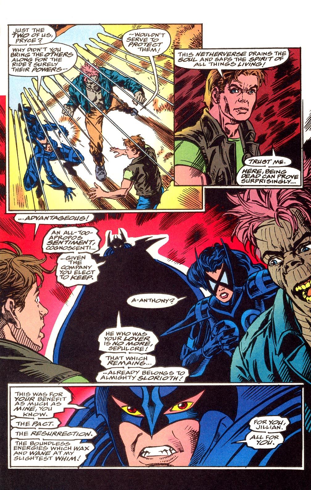 Read online Secret Defenders comic -  Issue #25 - 18