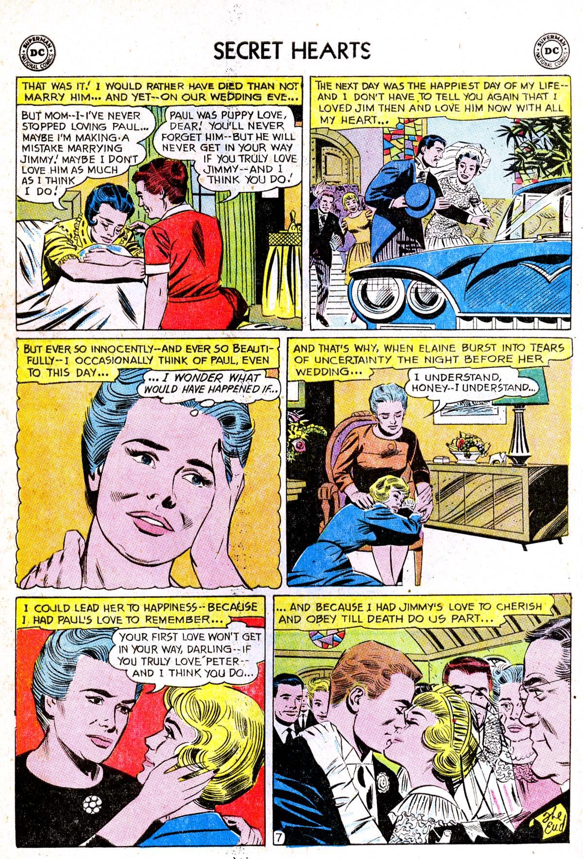 Read online Secret Hearts comic -  Issue #85 - 16
