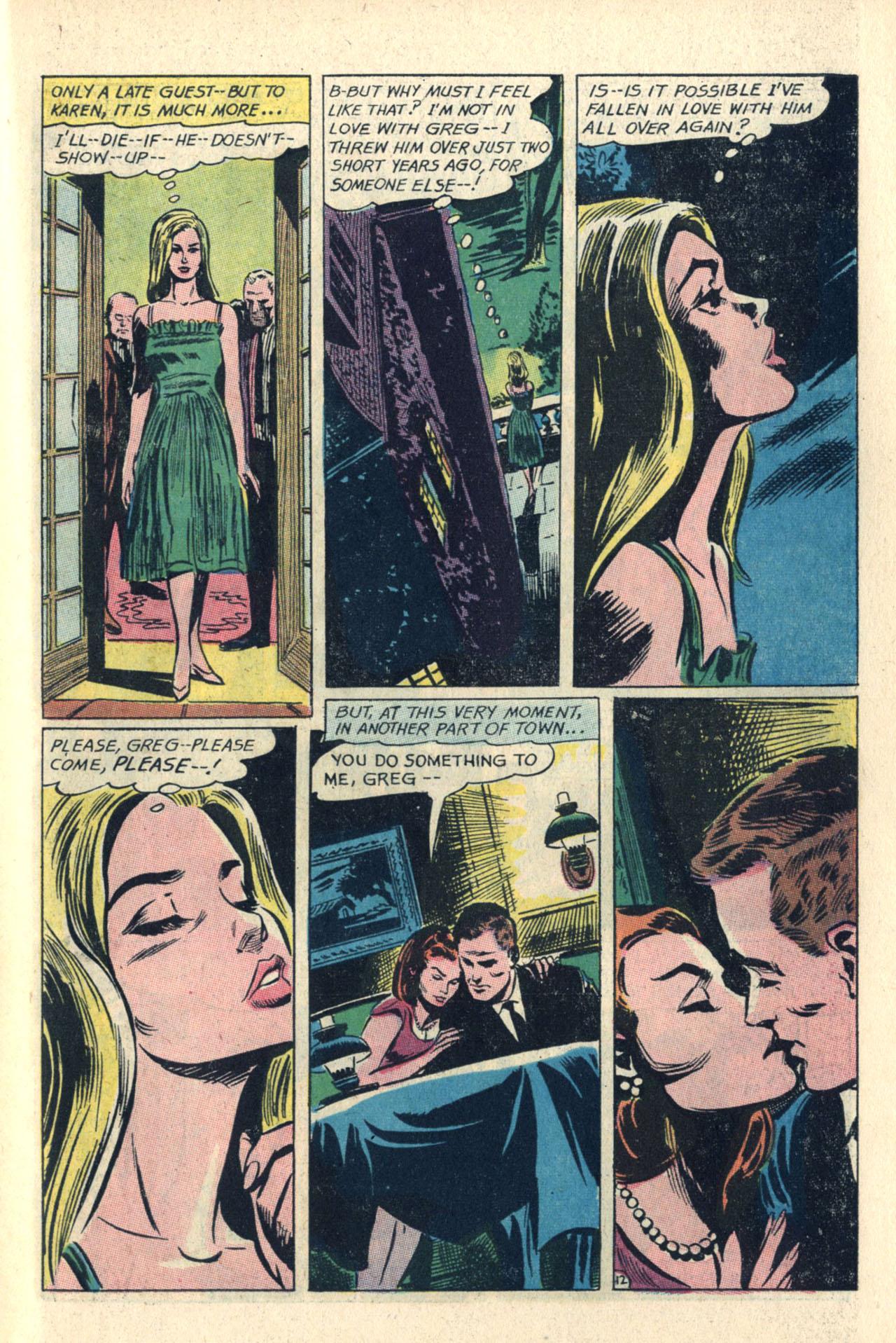 Read online Secret Hearts comic -  Issue #112 - 31
