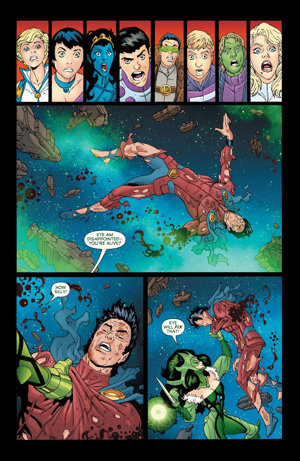 Legion of Super-Heroes (2011) Issue #19 #20 - English 19