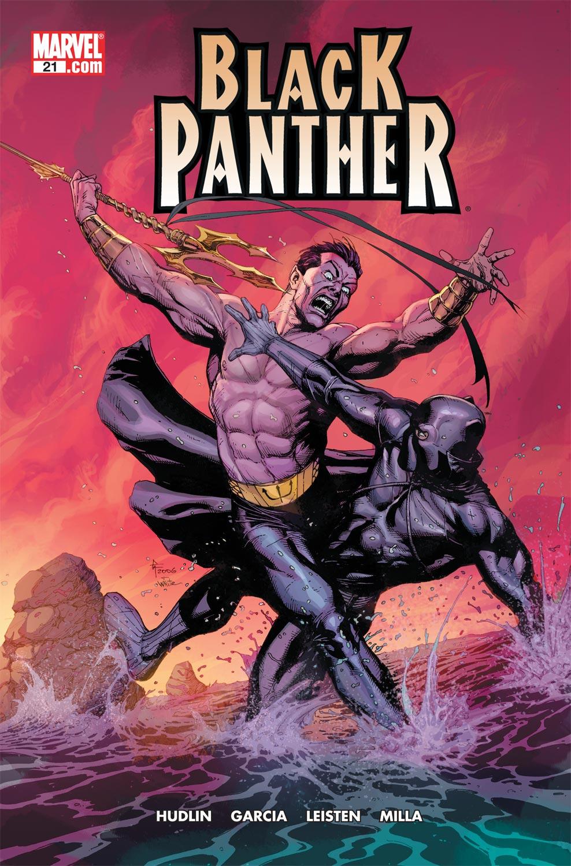 Black Panther (2005) 21 Page 1
