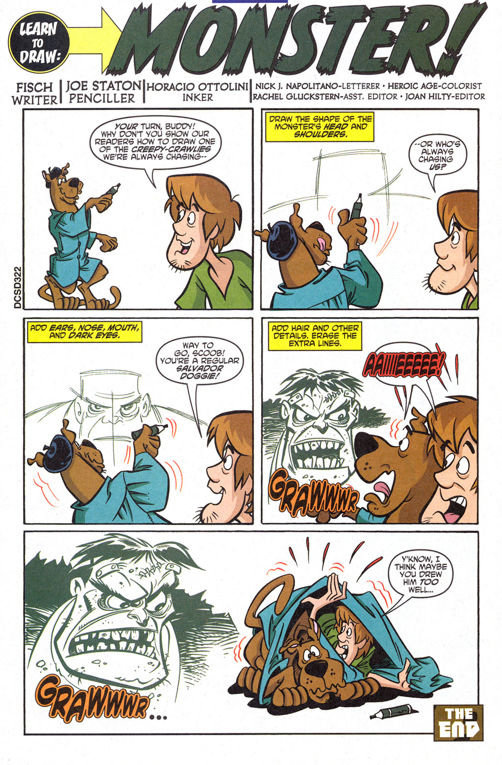 Read online Scooby-Doo (1997) comic -  Issue #98 - 21