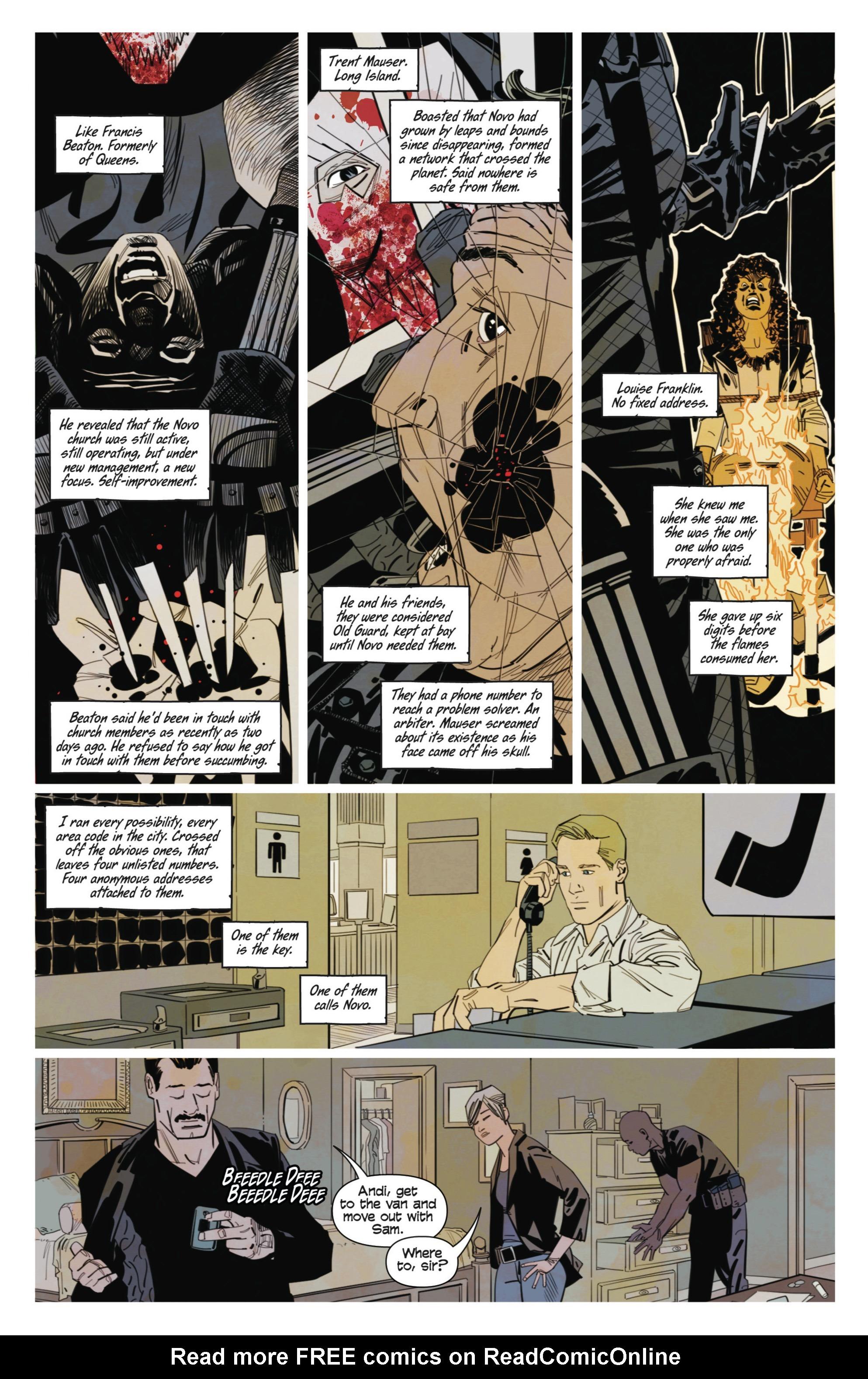 Read online Demonic comic -  Issue #3 - 12