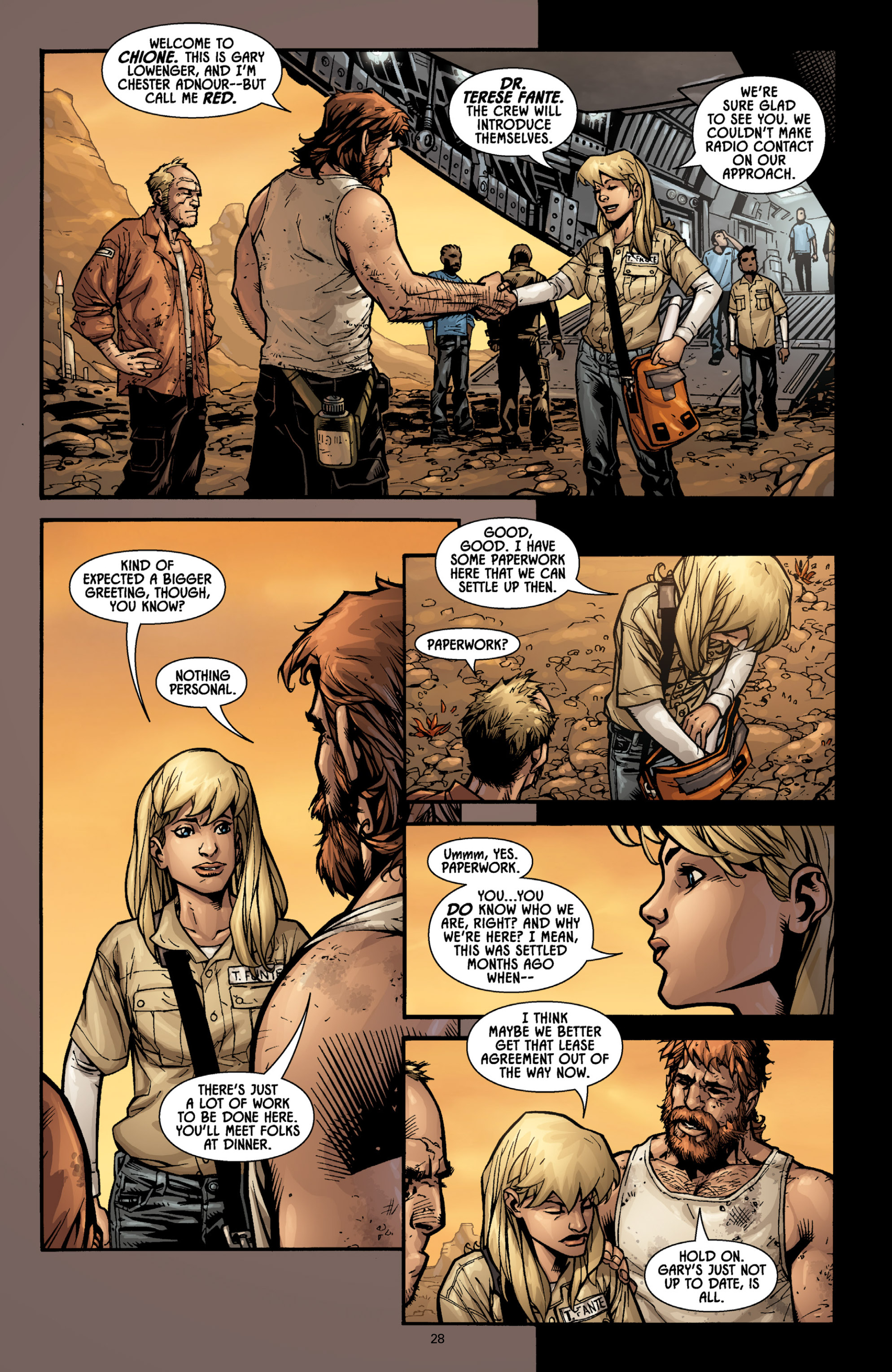 Aliens (2009) TPB Page 26