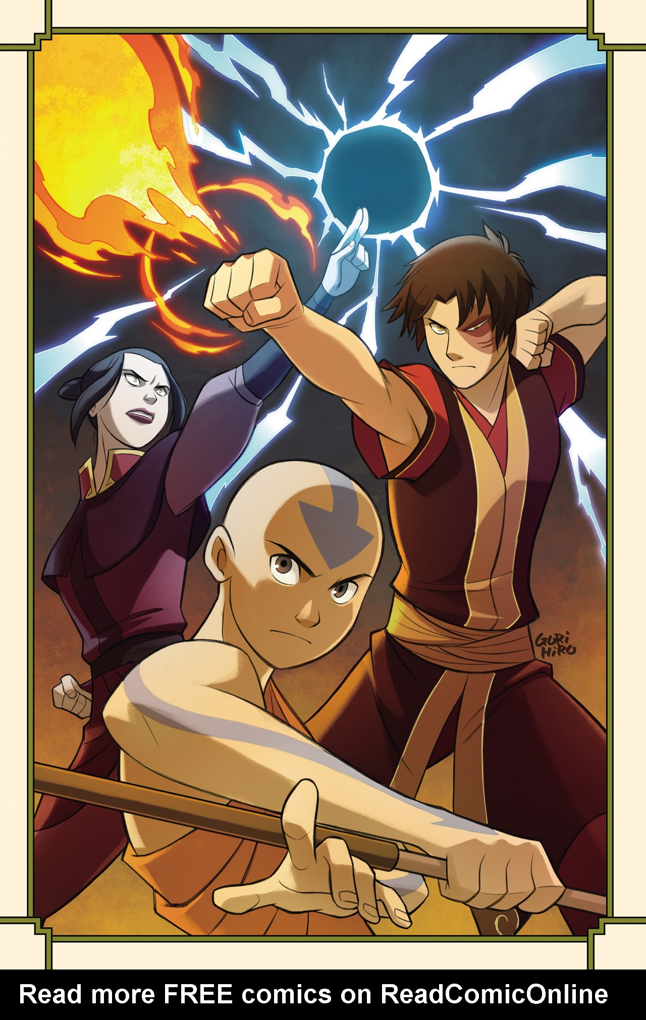 Read online Nickelodeon Avatar: The Last Airbender - The Search comic -  Issue # Part 3 - 3