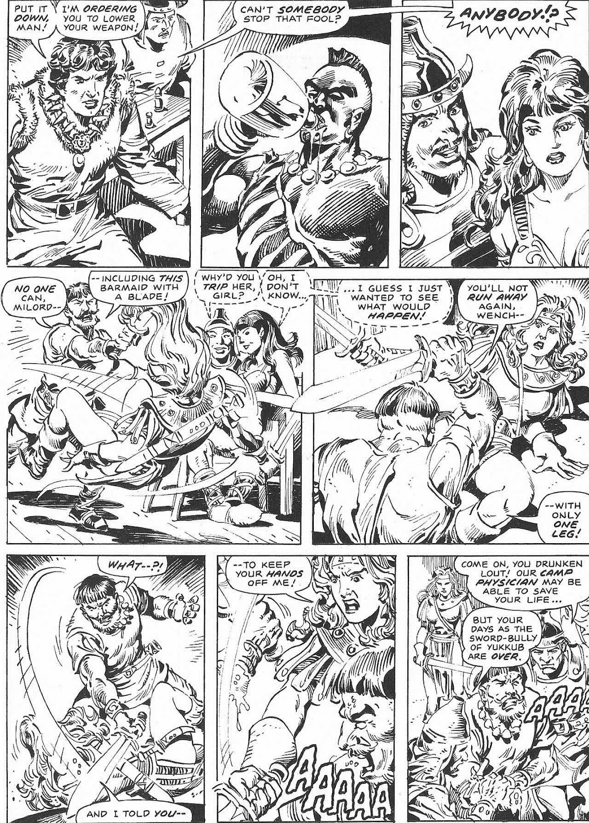 The Savage Sword Of Conan Issue #207 #208 - English 59