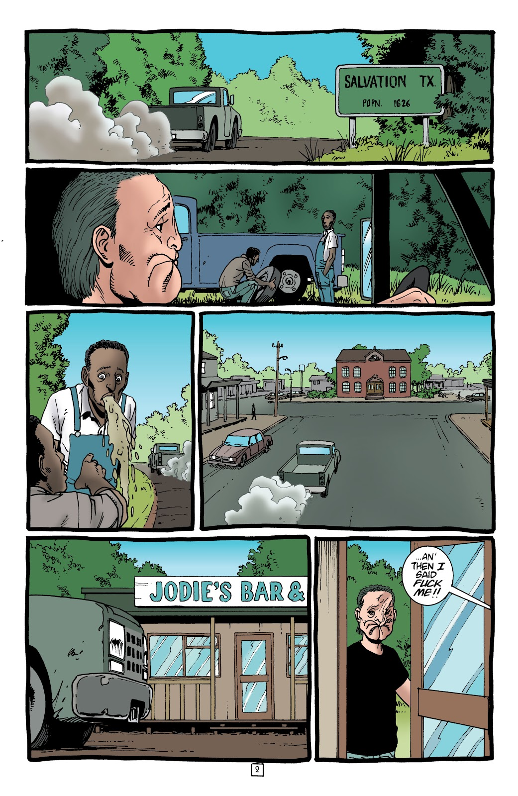 Preacher Issue #62 #71 - English 3