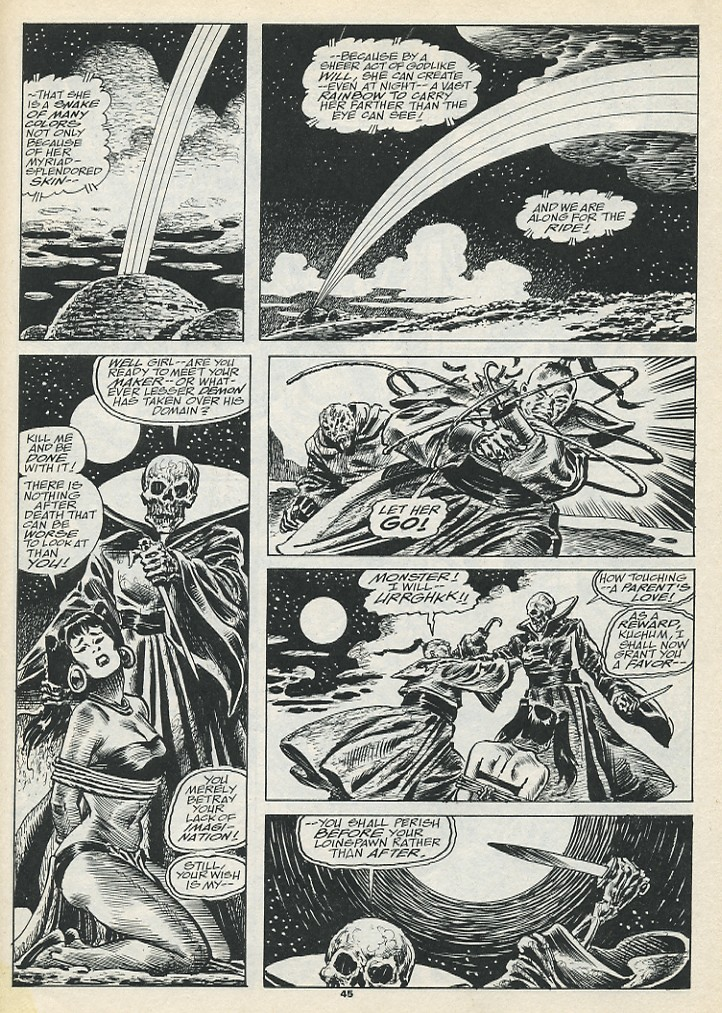 The Savage Sword Of Conan Issue #193 #194 - English 47