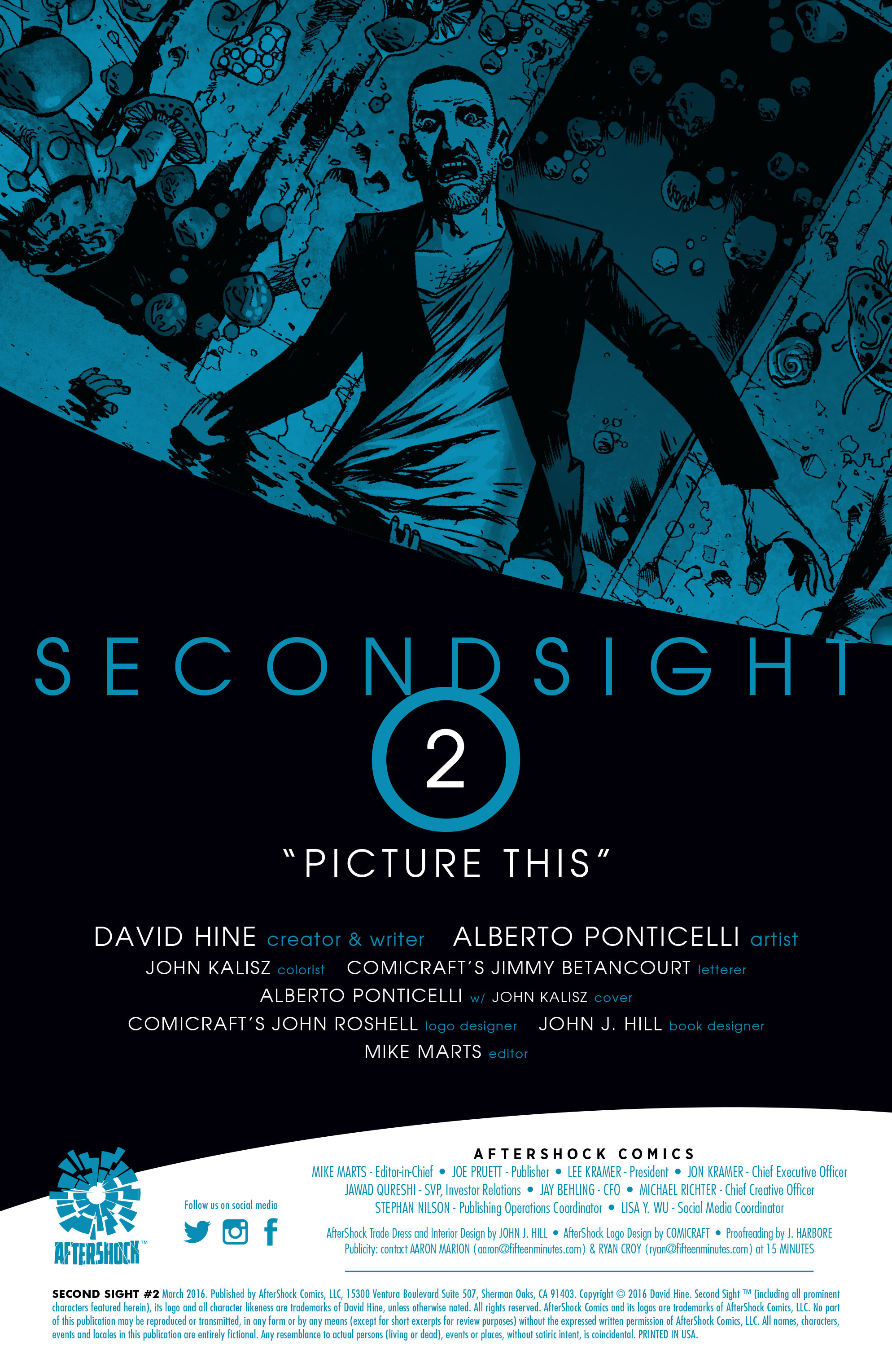 Read online Second Sight comic -  Issue #2 - 2