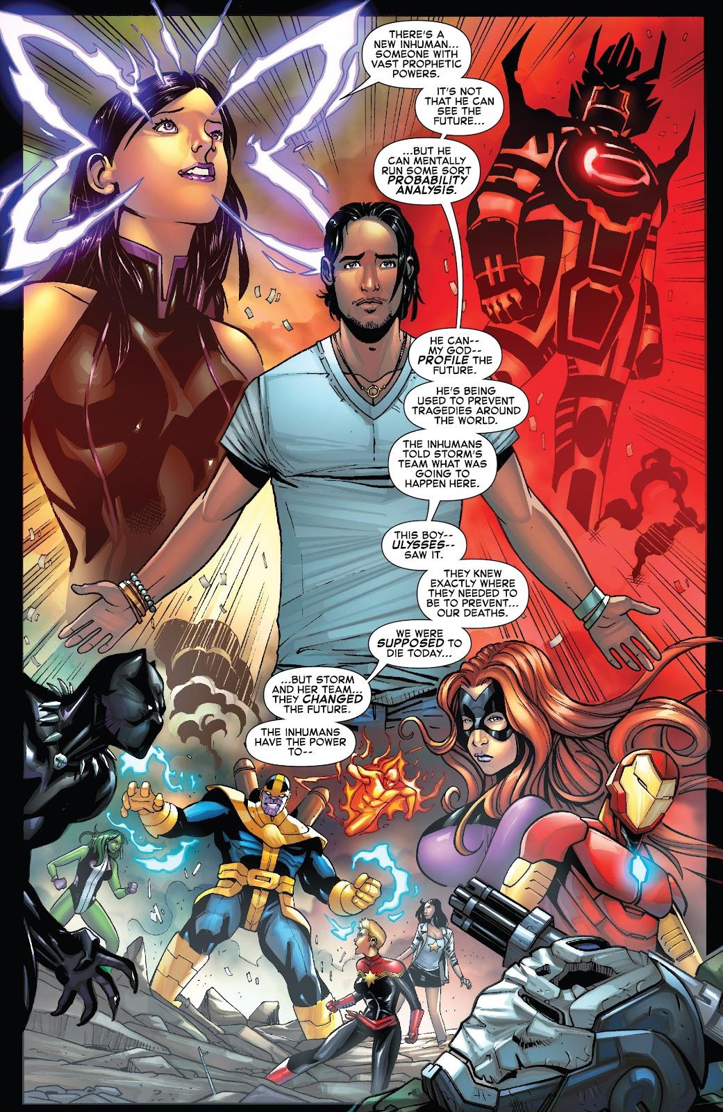 Civil War II: X-Men Issue #1 #1 - English 22