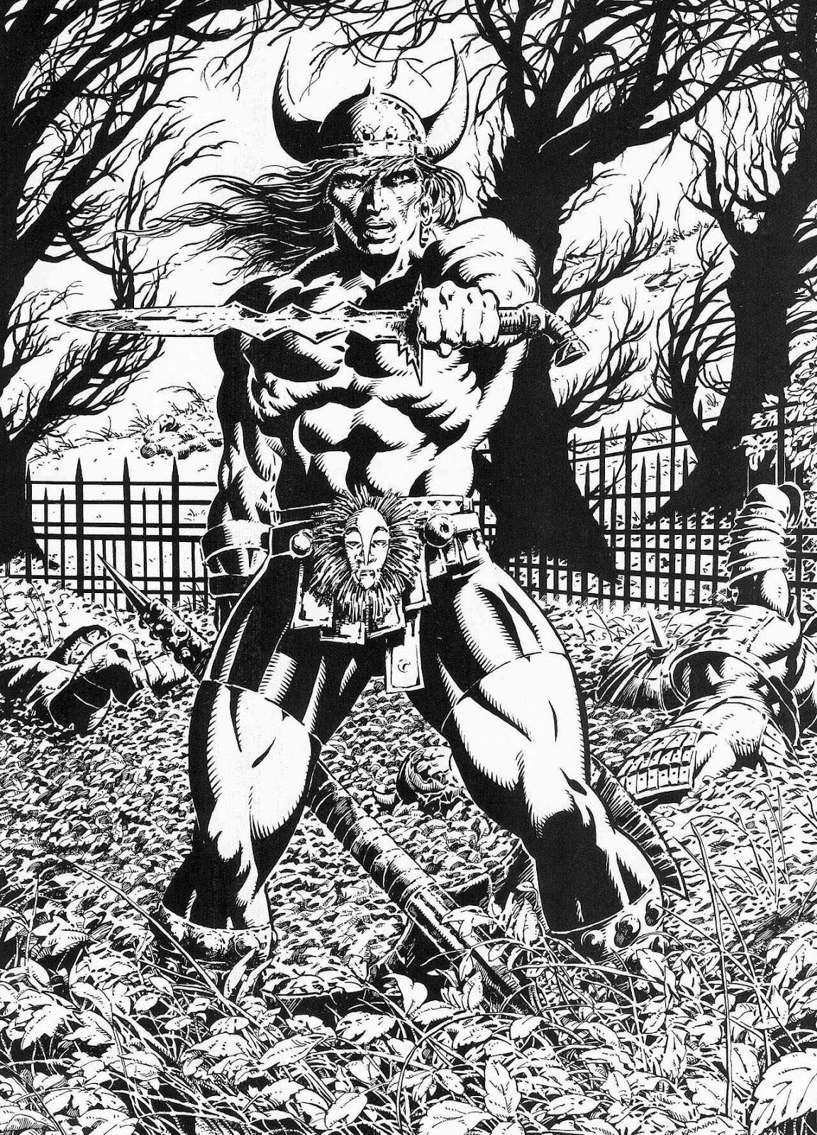 The Savage Sword Of Conan Issue #210 #211 - English 66