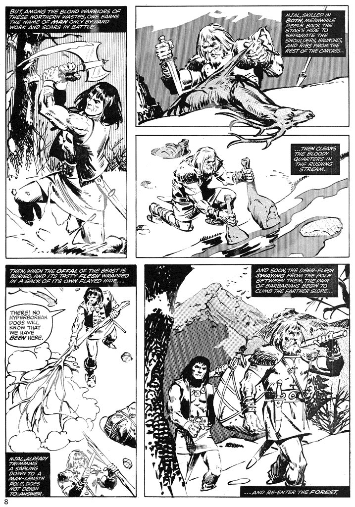 The Savage Sword Of Conan Issue #39 #40 - English 8