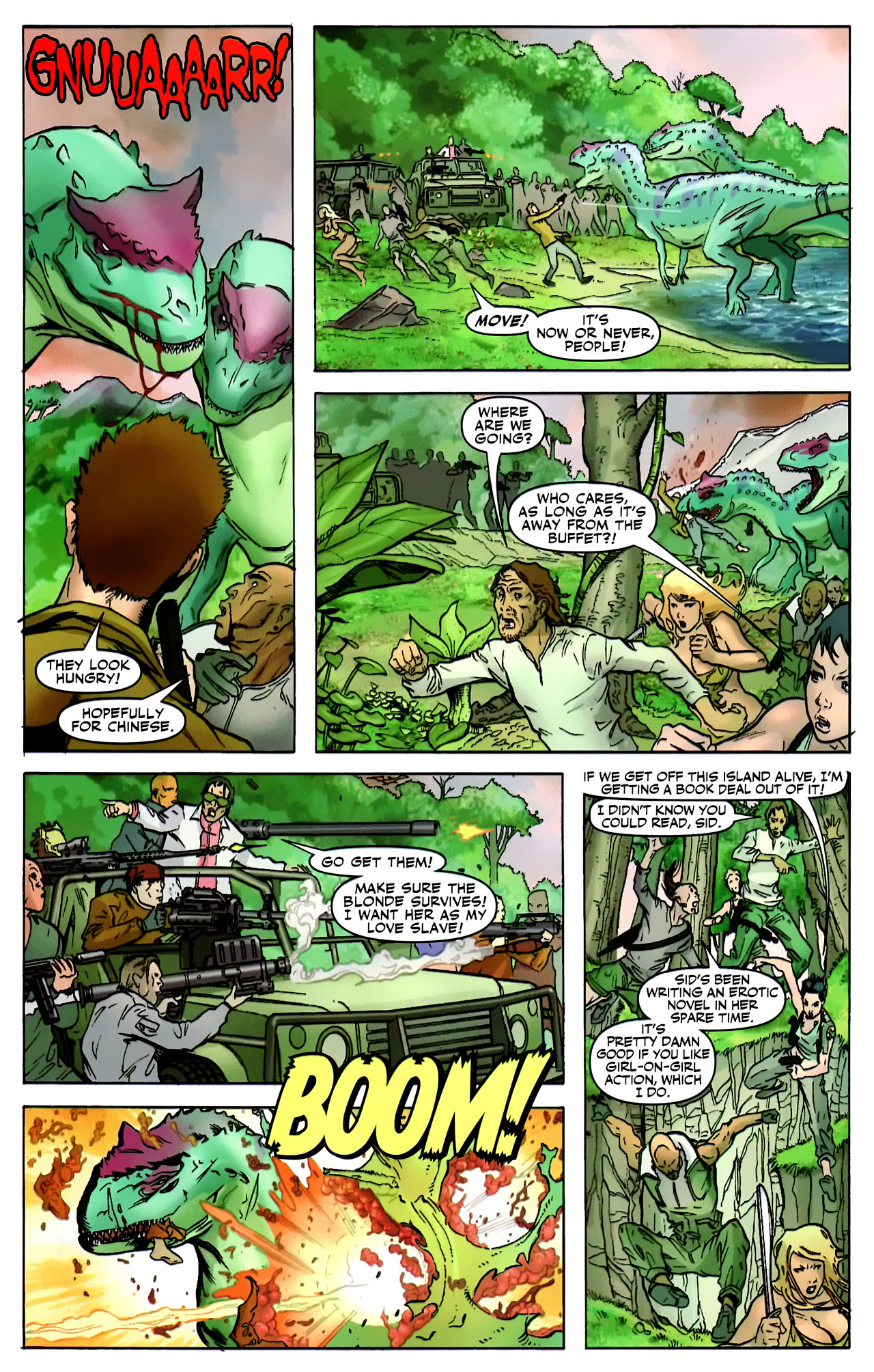Read online Shanna the She-Devil: Survival of the Fittest comic -  Issue #2 - 8