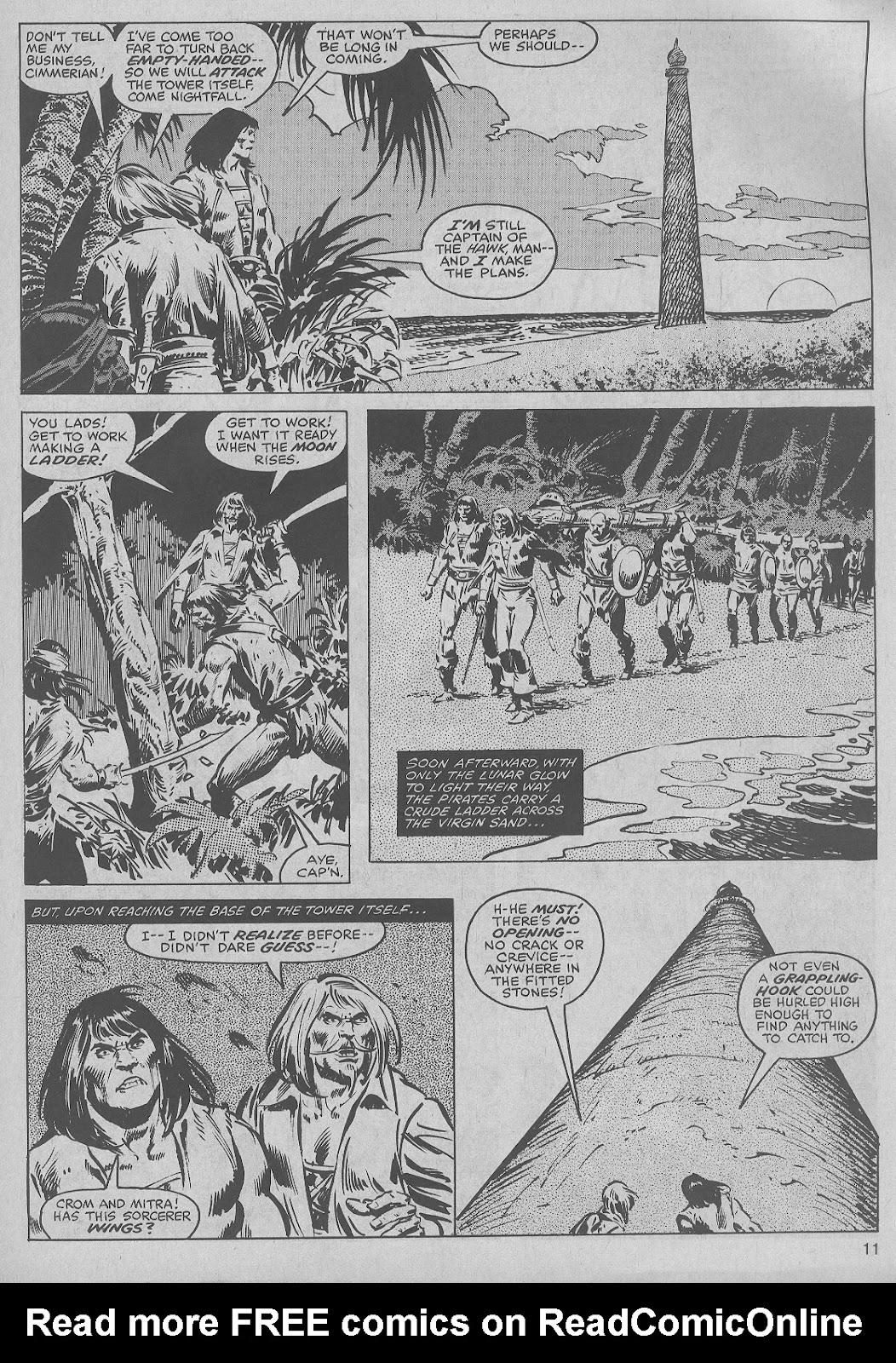 The Savage Sword Of Conan Issue #45 #46 - English 11
