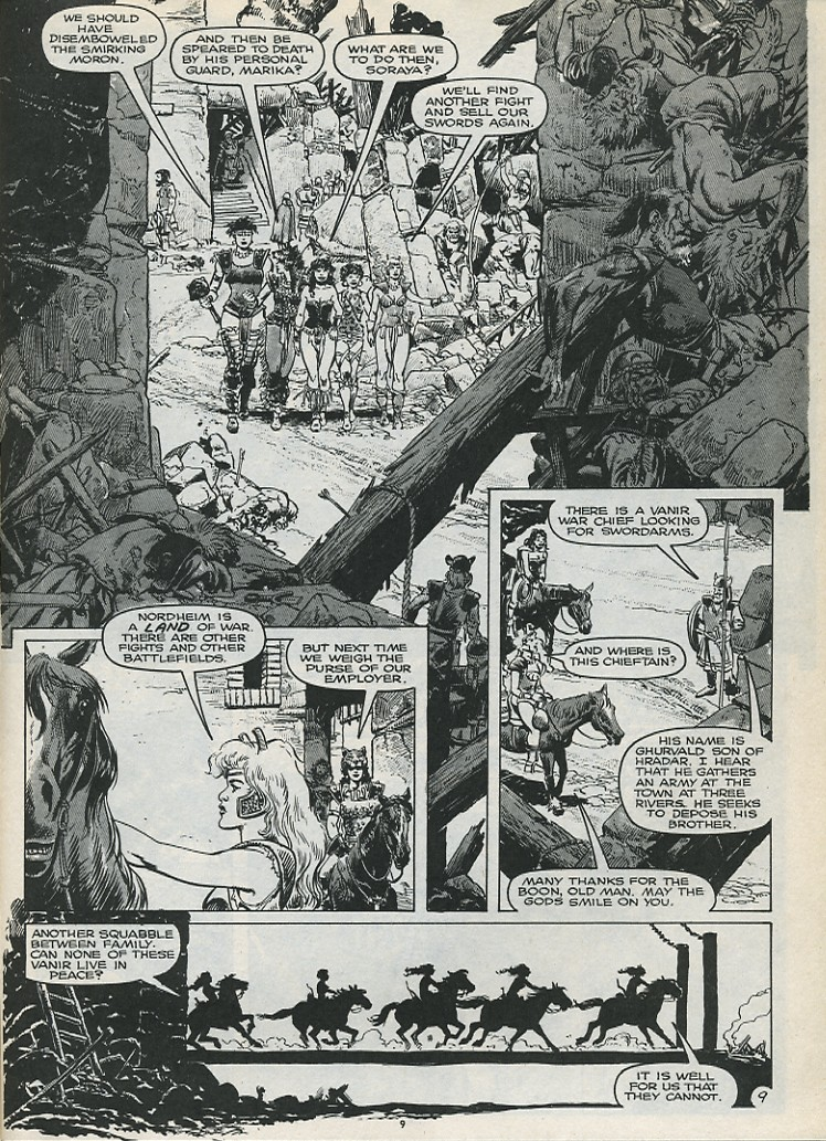 The Savage Sword Of Conan Issue #179 #180 - English 11