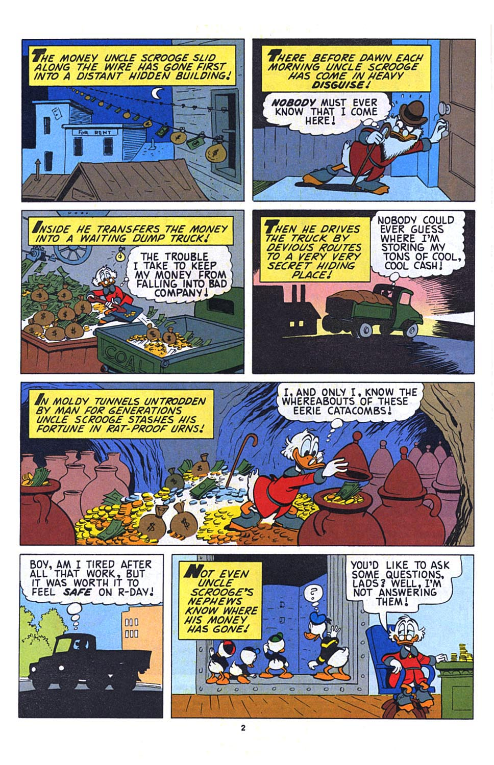 Uncle Scrooge (1953) Issue #273 #273 - English 3