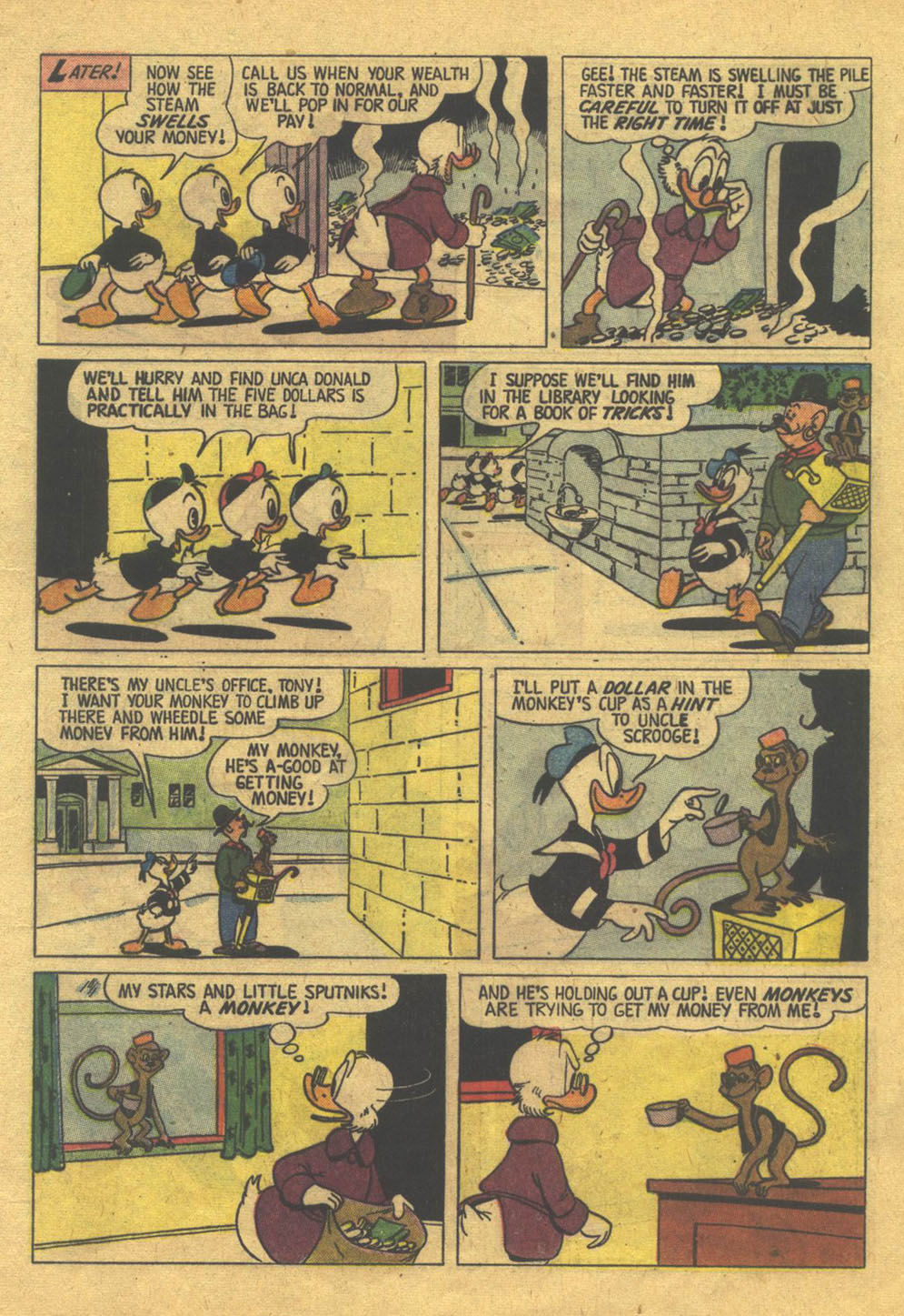 Uncle Scrooge (1953) Issue #22 #22 - English 9