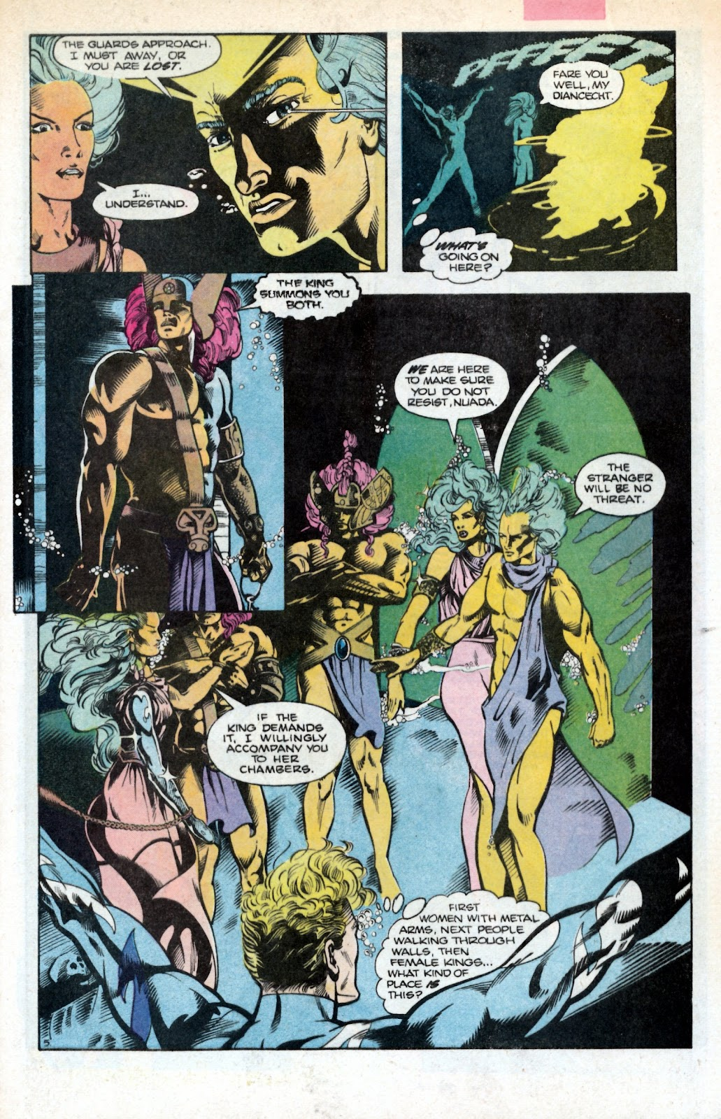 Aquaman (1986) Issue #2 #2 - English 9