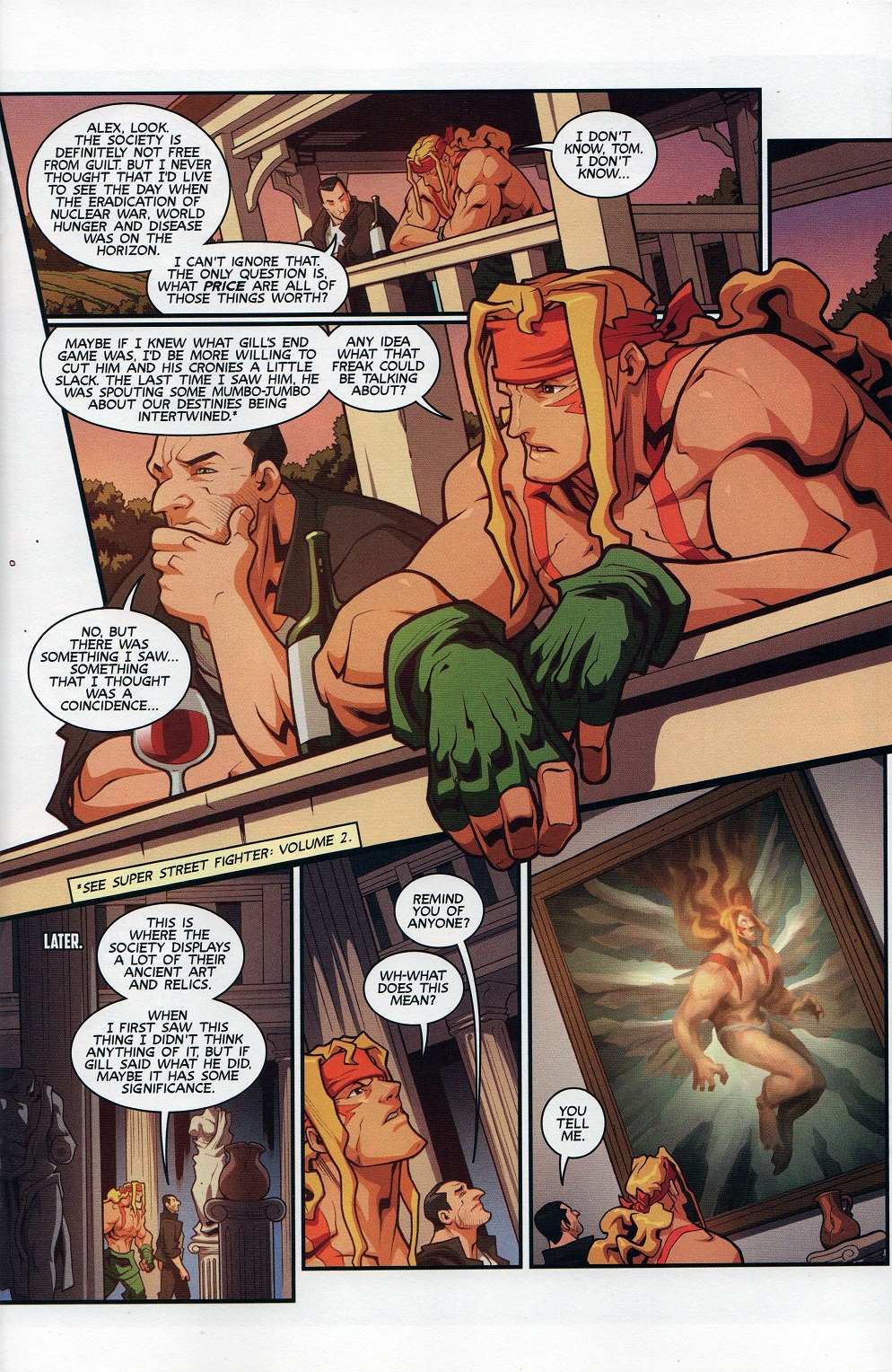 Street Fighter Unlimited Issue #7 #9 - English 11