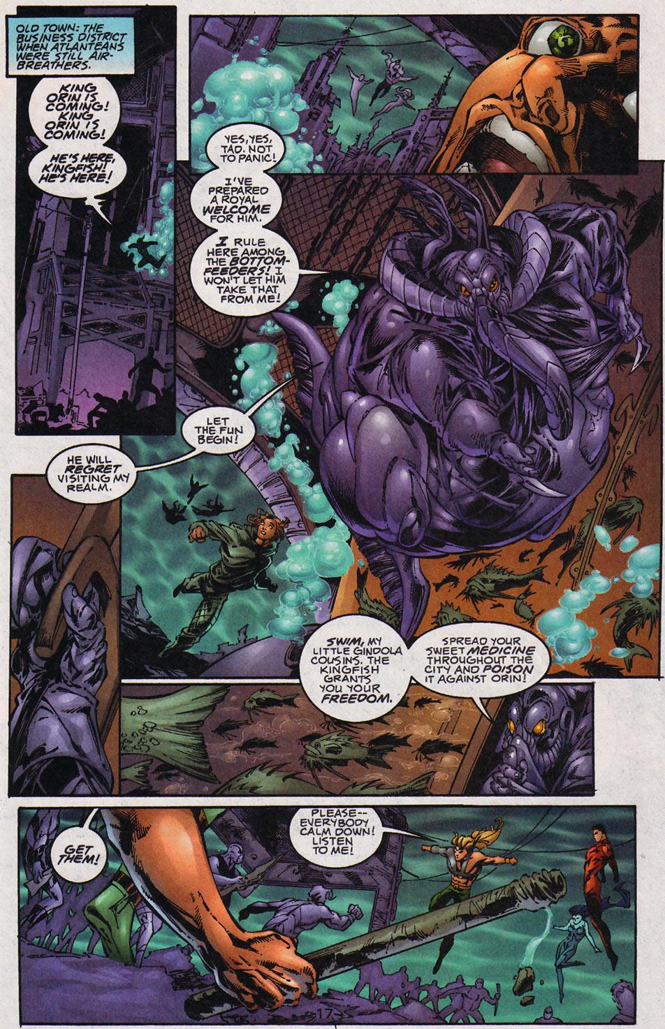Aquaman (1994) Issue #59 #65 - English 18
