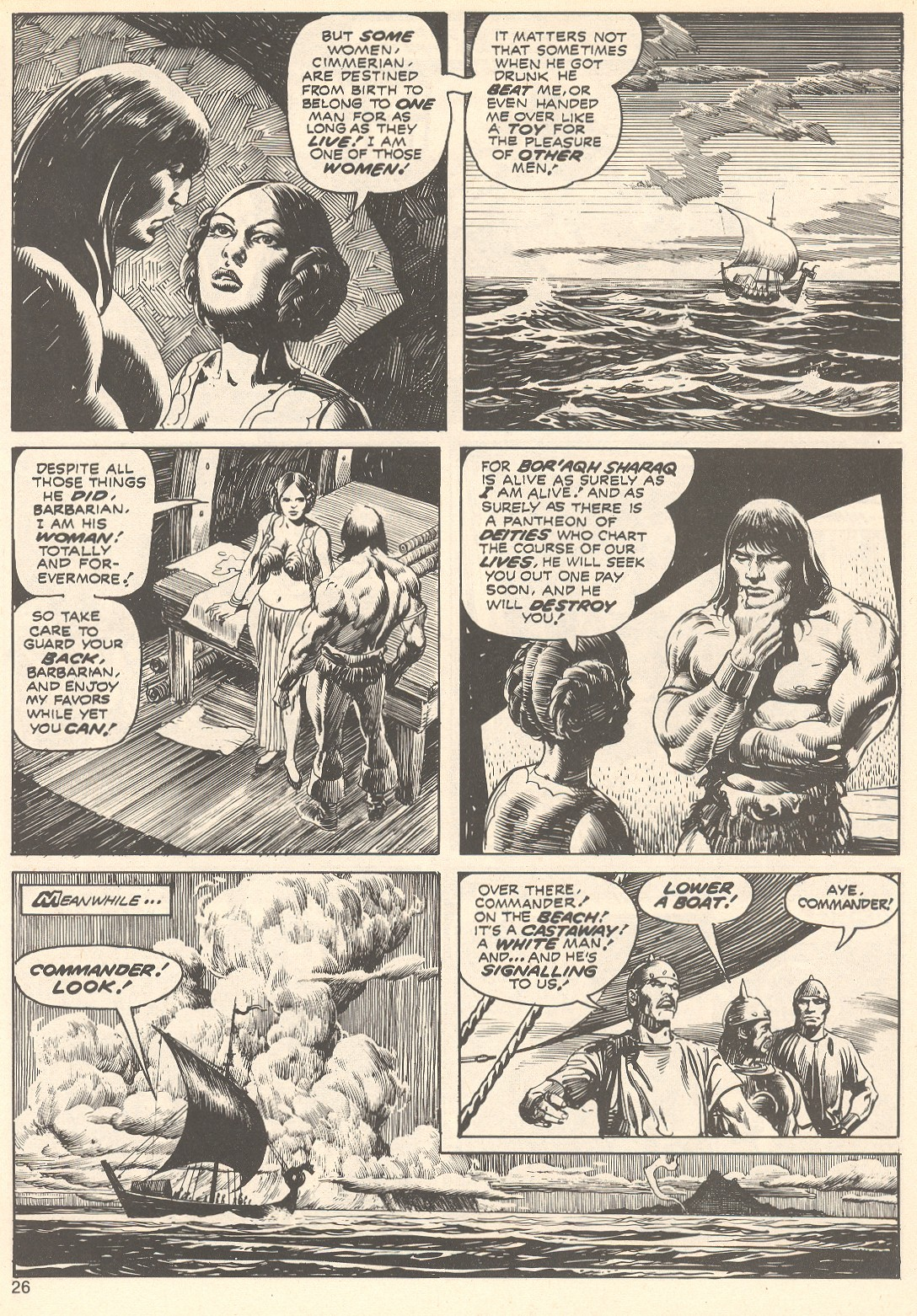 The Savage Sword Of Conan Issue #75 #76 - English 26