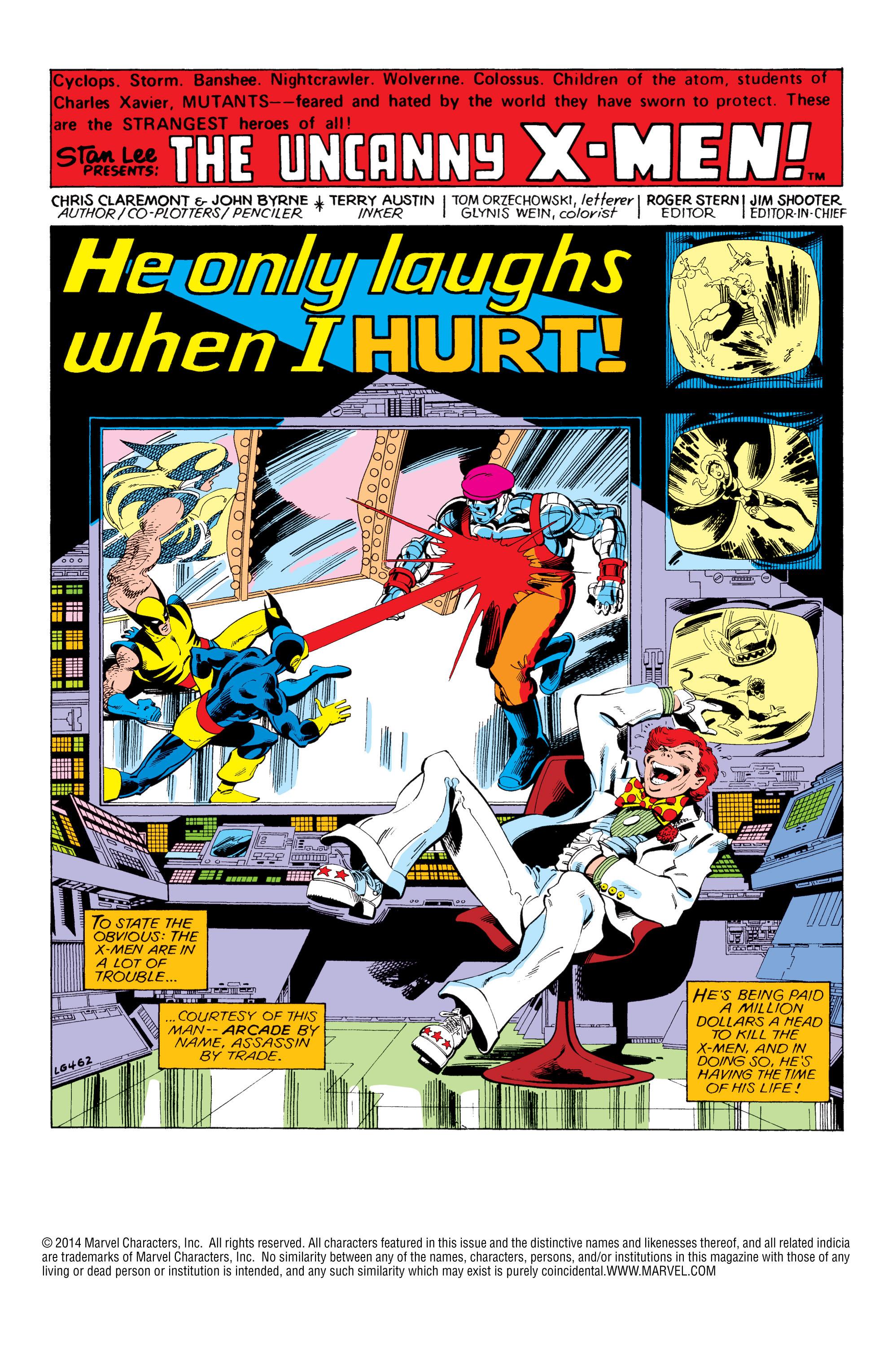 Uncanny X-Men (1963) 124 Page 2