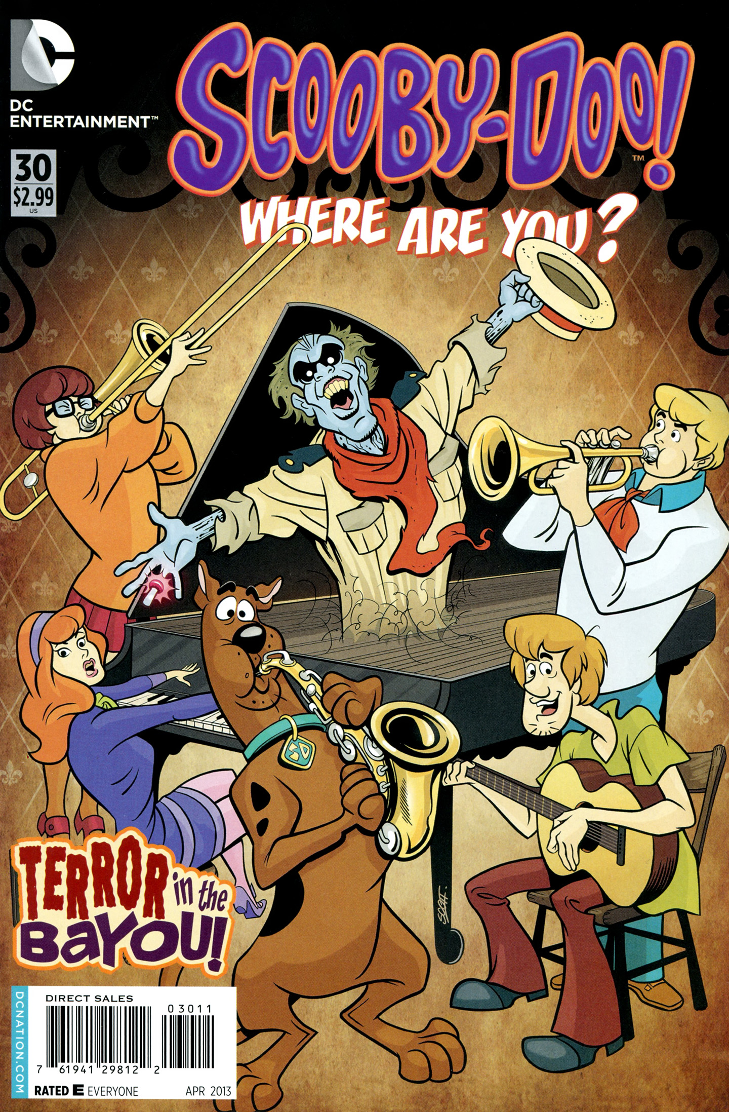 Read online Scooby-Doo: Where Are You? comic -  Issue #30 - 1