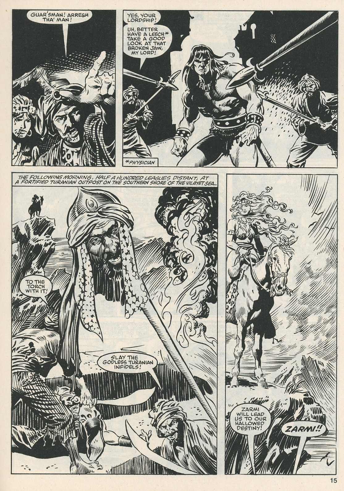 The Savage Sword Of Conan Issue #112 #113 - English 15