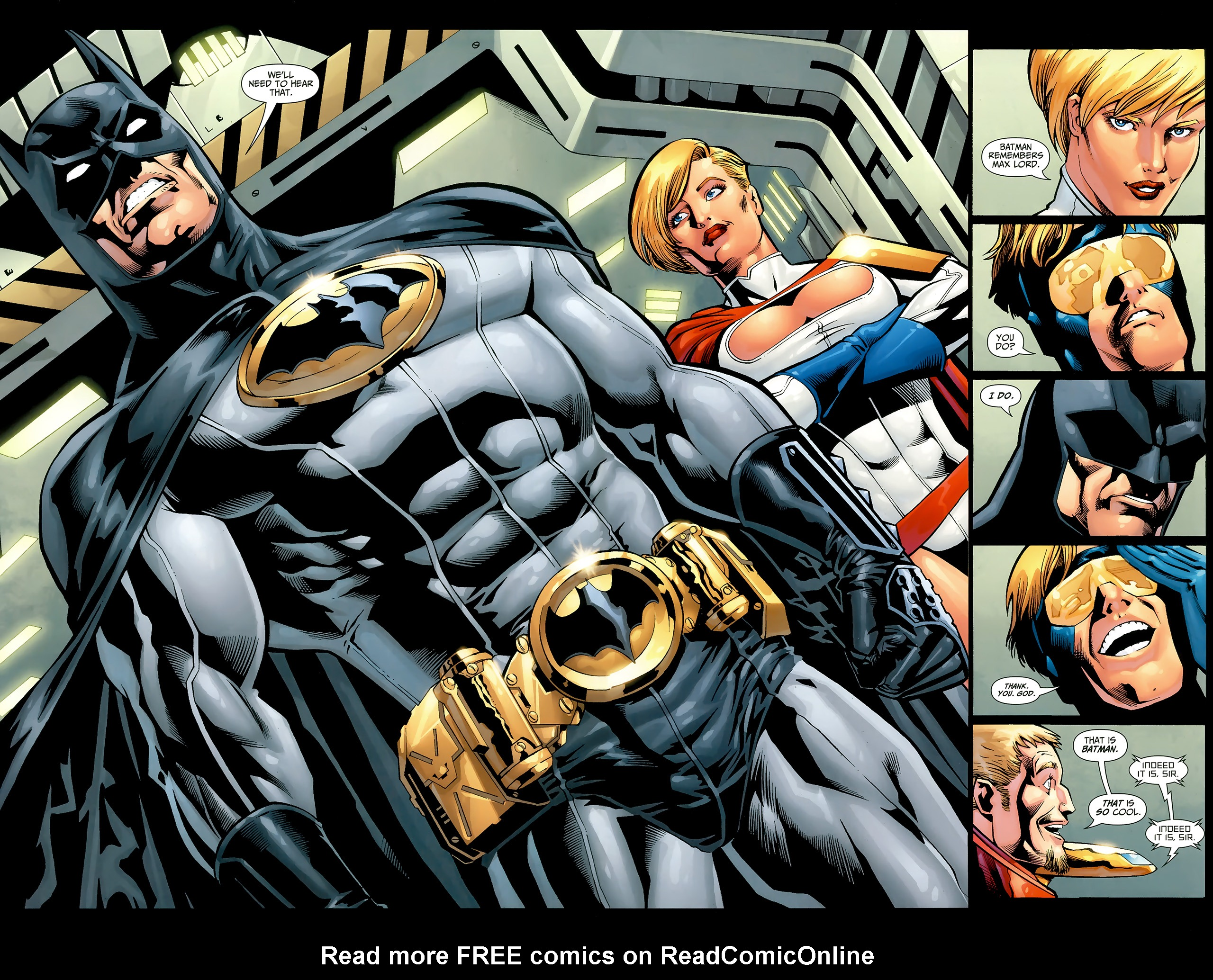 Read online Justice League: Generation Lost comic -  Issue #22 - 10