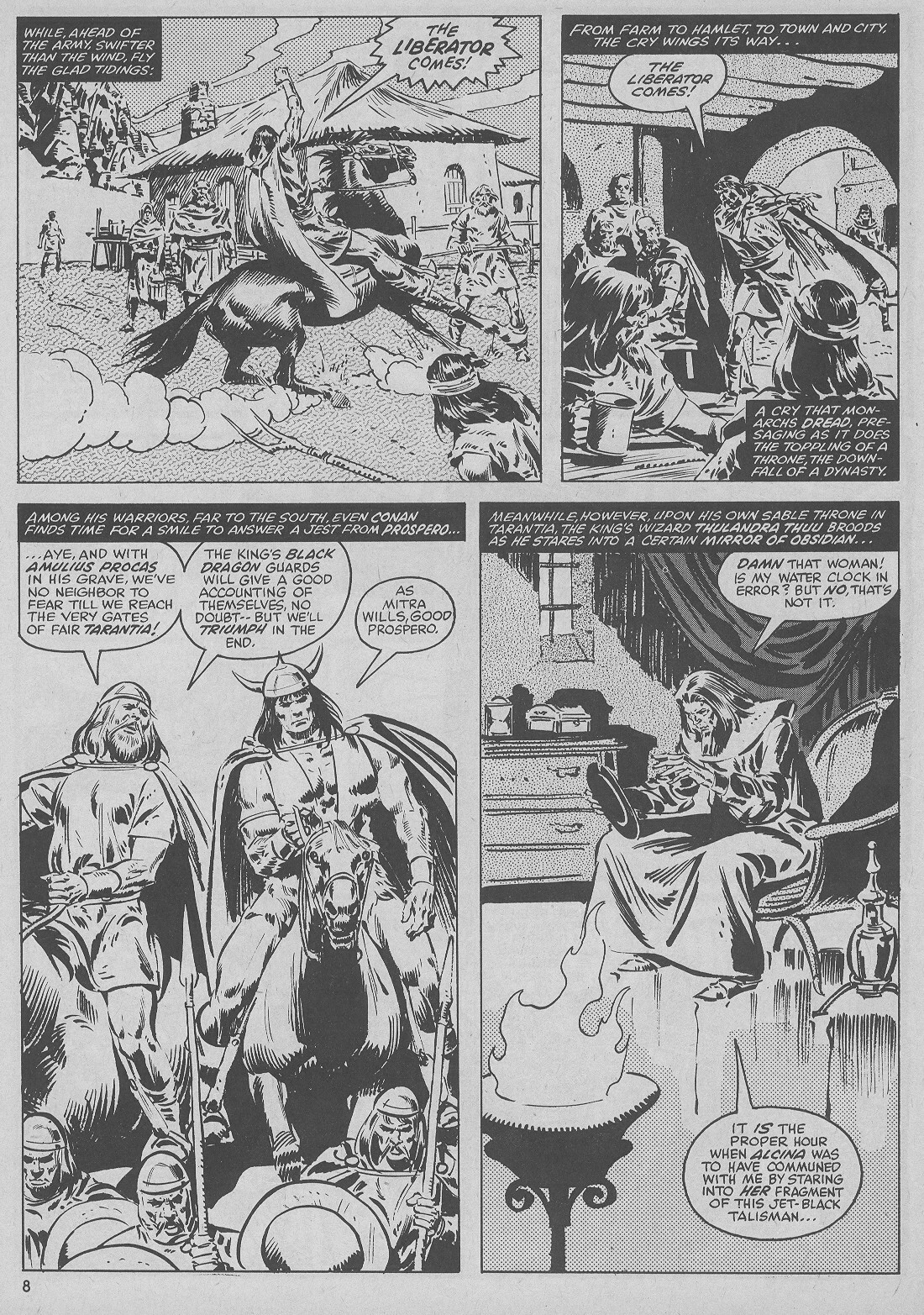 The Savage Sword Of Conan Issue #51 #52 - English 8
