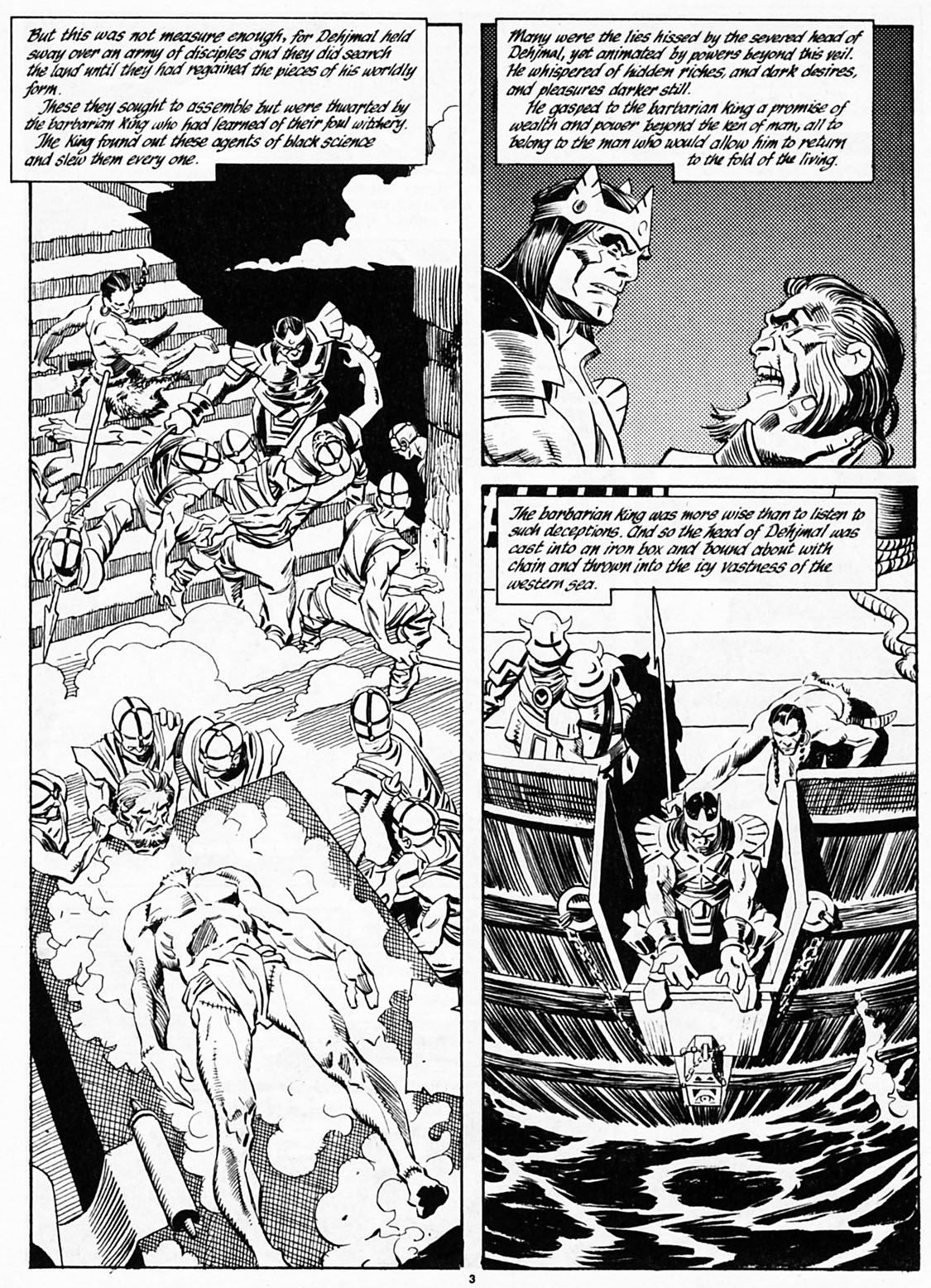 The Savage Sword Of Conan Issue #186 #187 - English 5