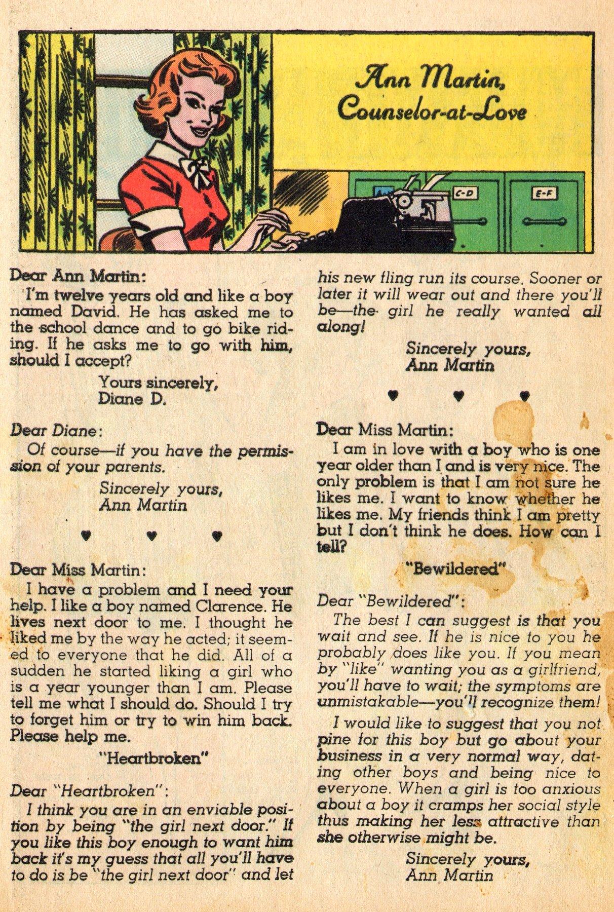 Read online Secret Hearts comic -  Issue #96 - 12