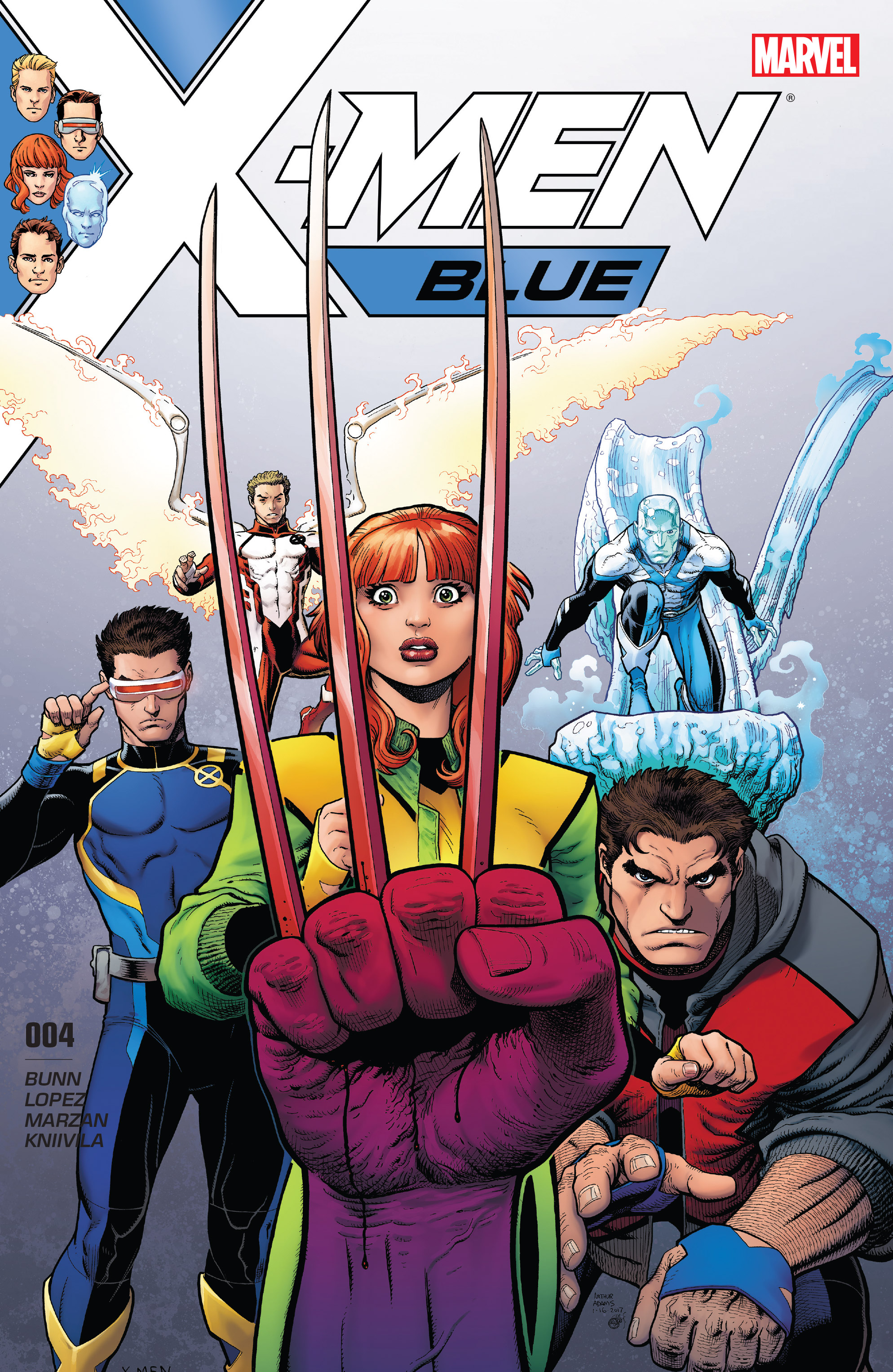 X-Men: Blue issue 4 - Page 1