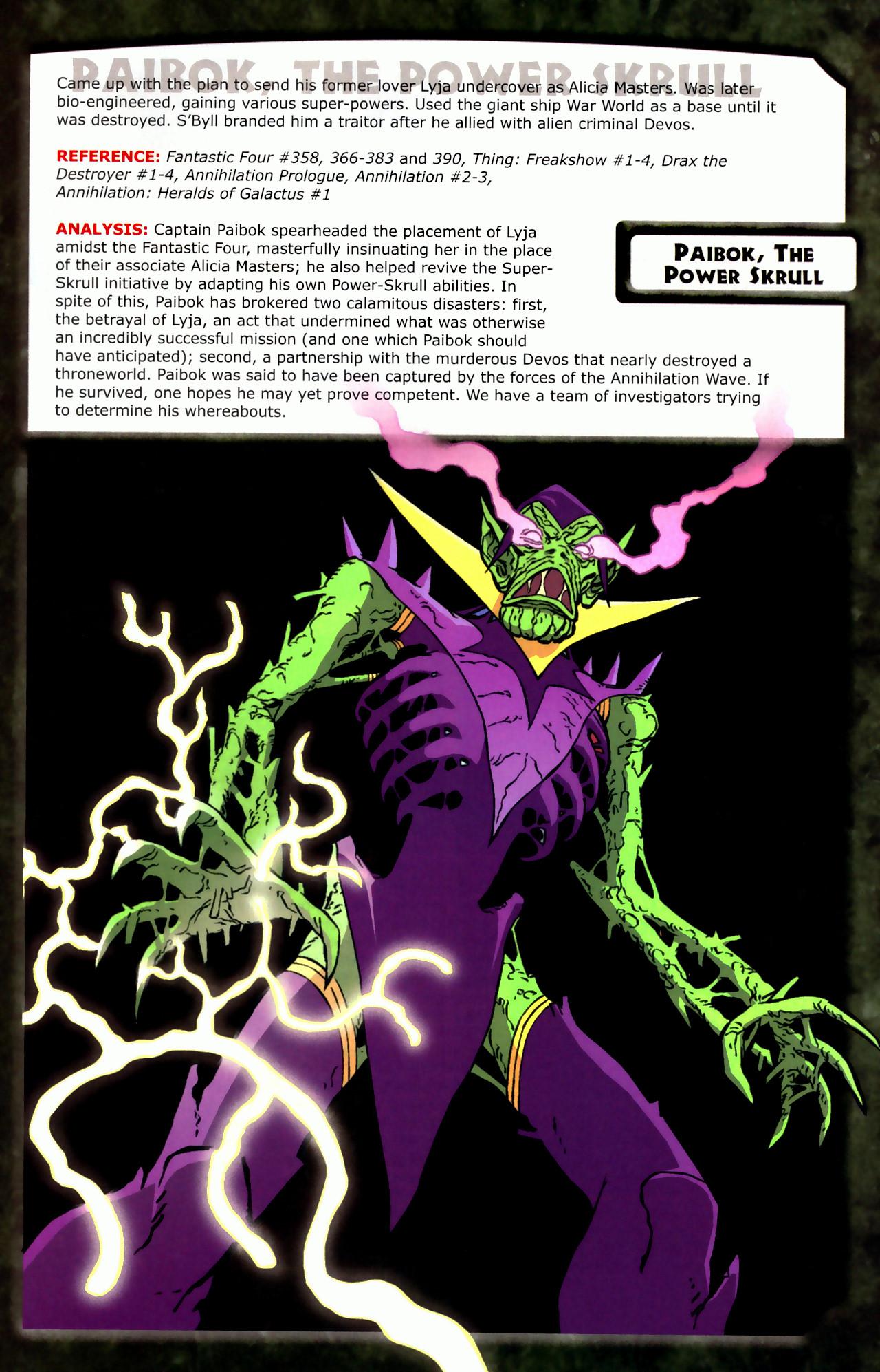 Read online Skrulls! comic -  Issue # Full - 33