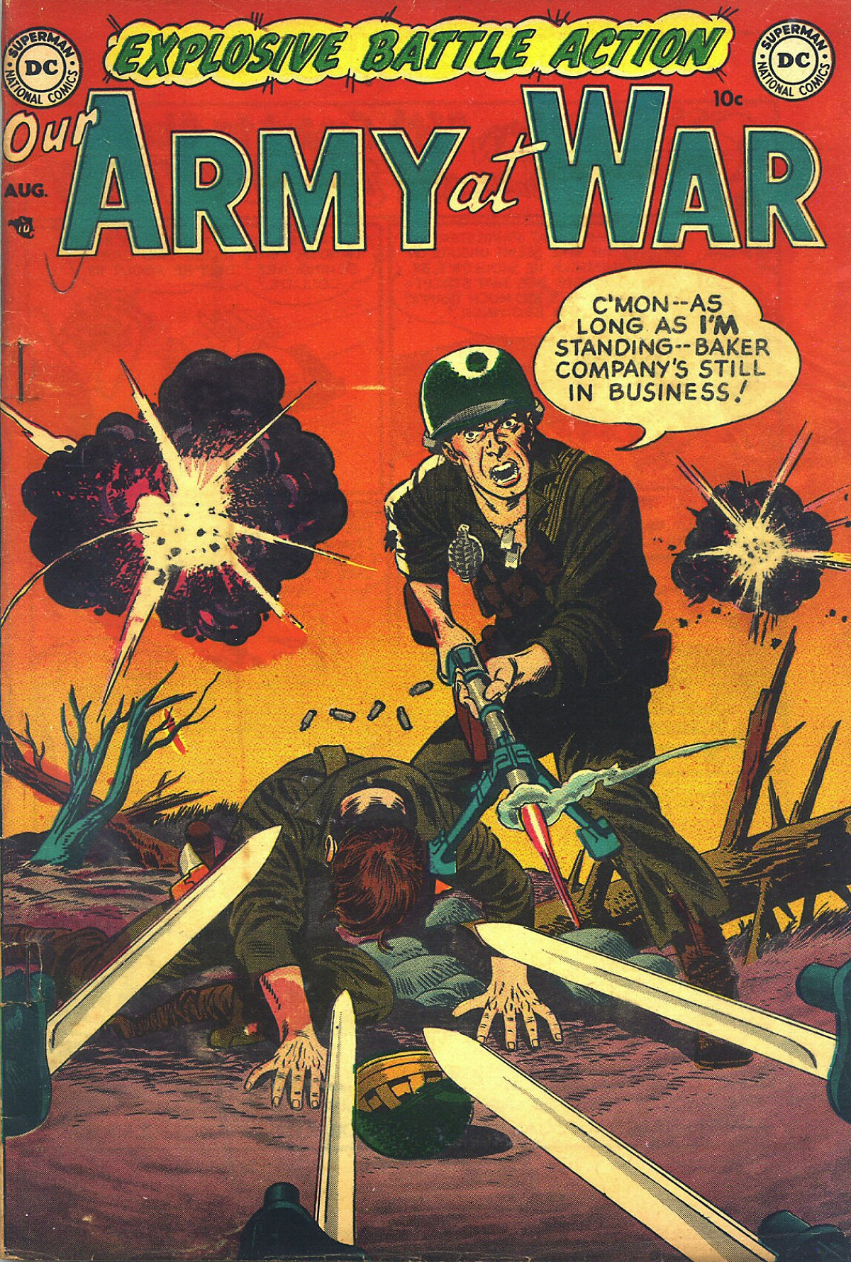 Our Army at War (1952) #1 #301 - English 37
