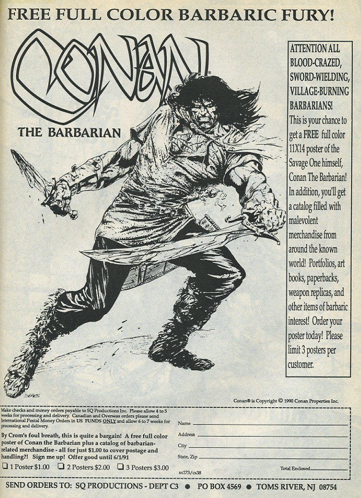 The Savage Sword Of Conan Issue #173 #174 - English 55