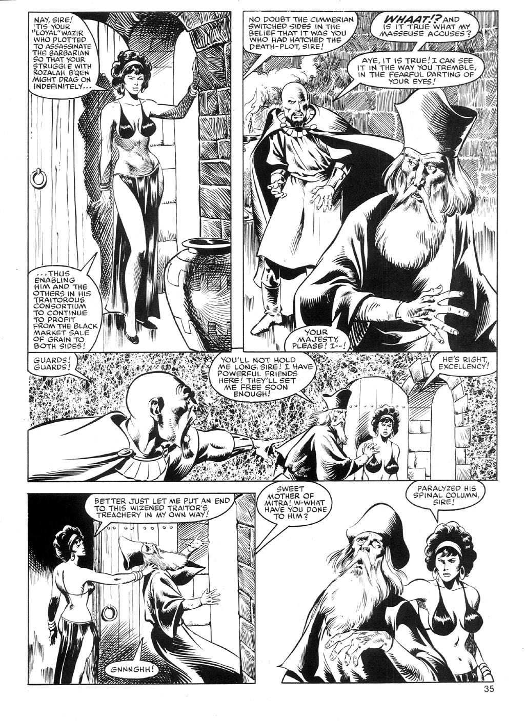 The Savage Sword Of Conan Issue #91 #92 - English 34