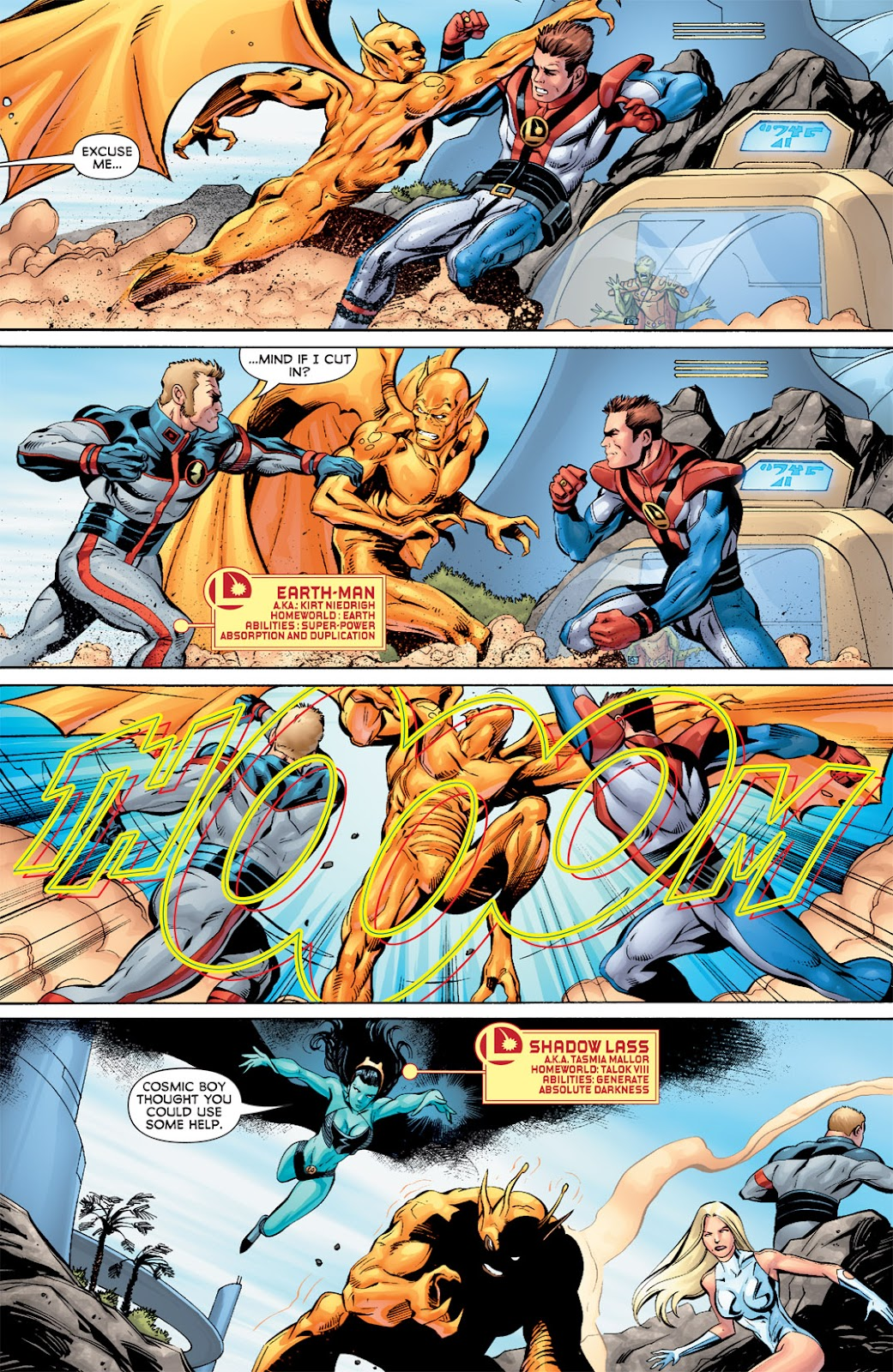 Legion of Super-Heroes (2010) Issue #8 #9 - English 14