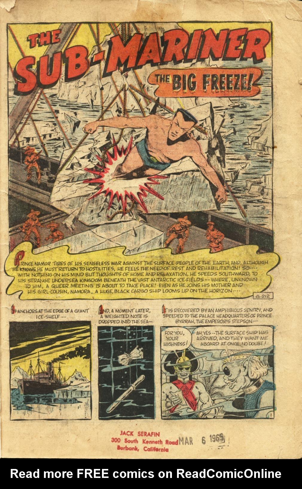 Sub-Mariner Comics #41 #41 - English 2